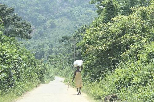 Heading Home From Farm - Erin Oke Osun State Nigeria