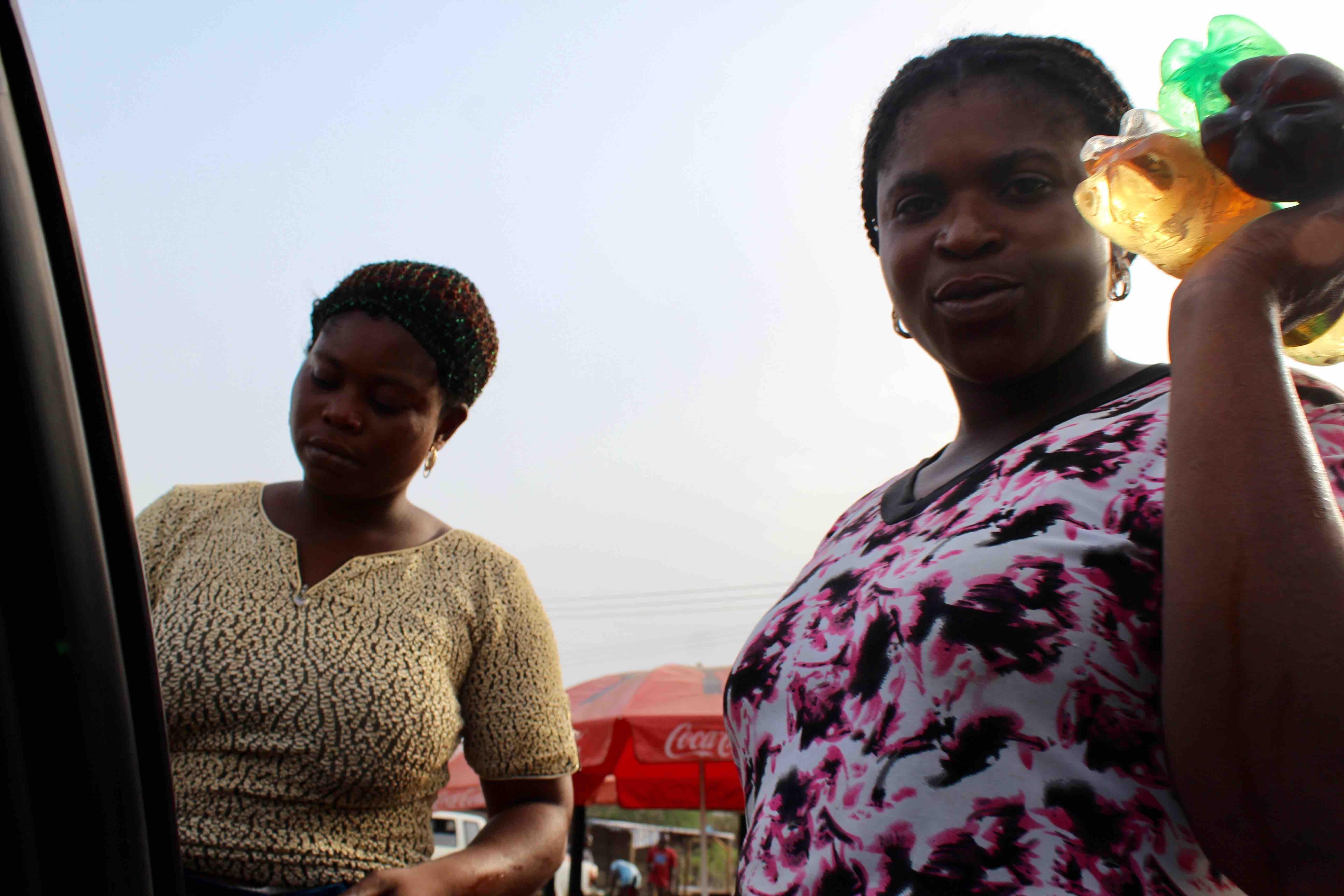 Women Roadside Hawking, Liquid Refreshments, Lokoja, Kogi State, Nigeria. #JujuFilms