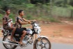 Obolo Village Female Motorcyclist
