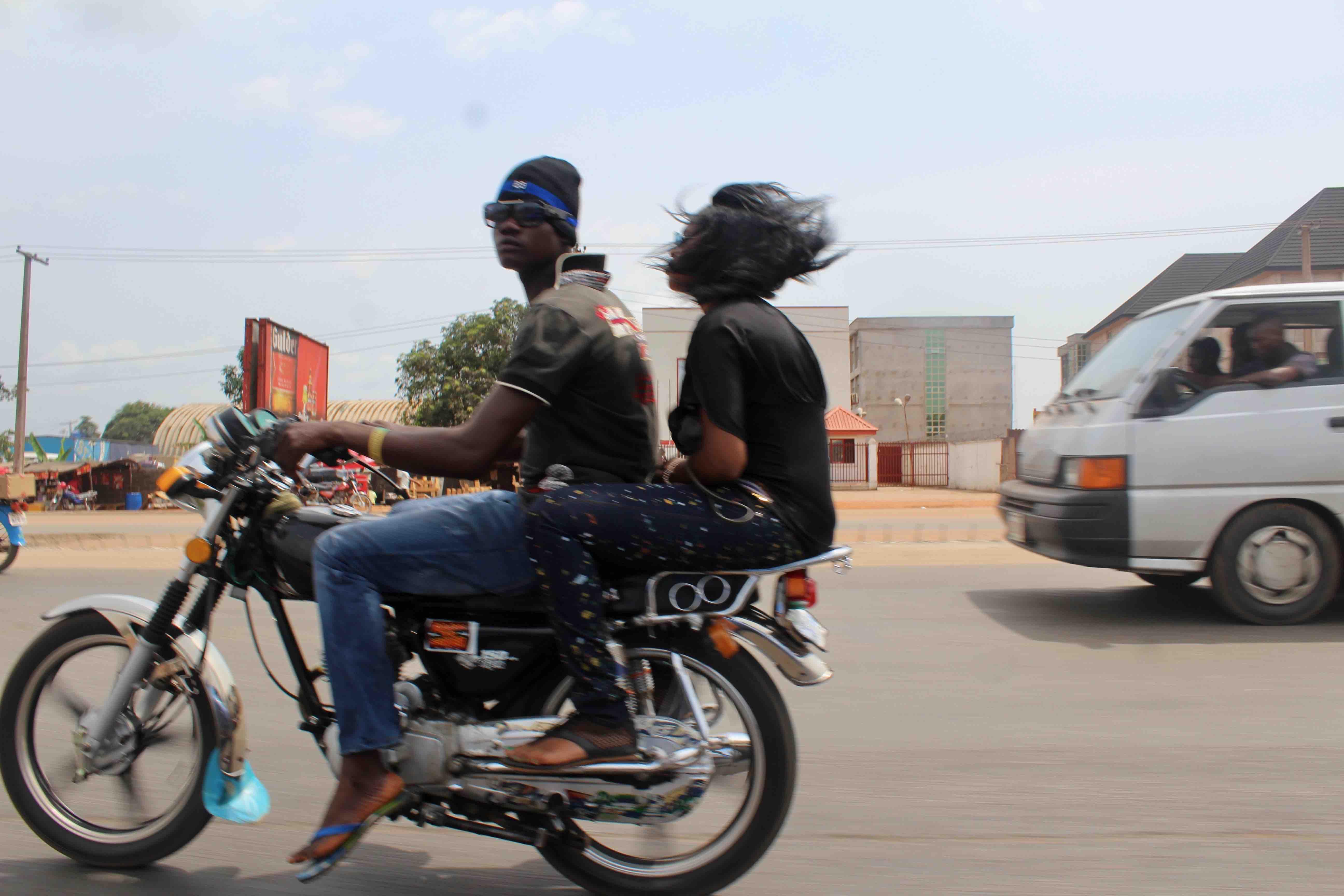Motorcycling in Onitsha, Anambra State, Nigeria. #JujuFilms