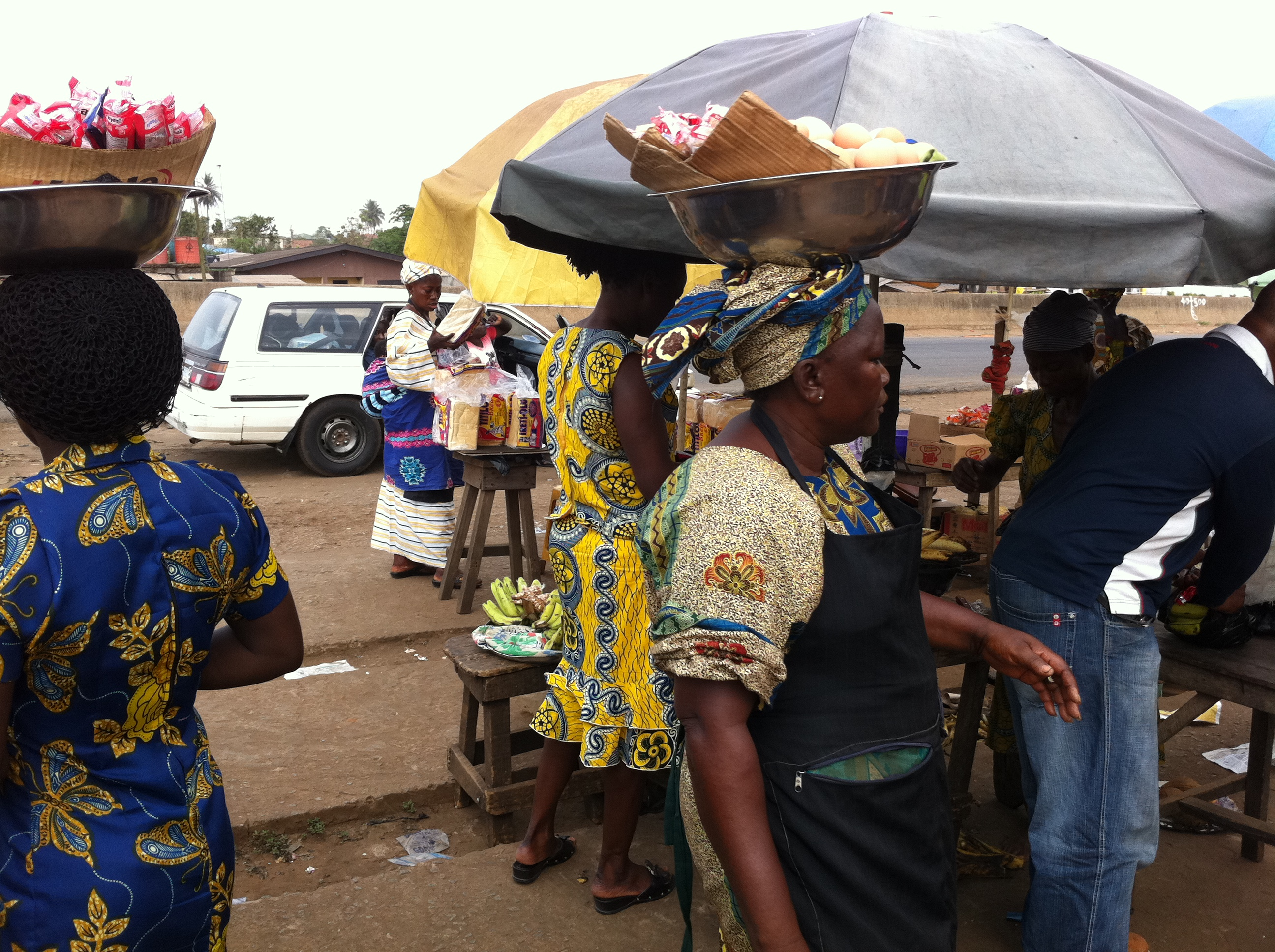 Image result for hawkers at bodija market