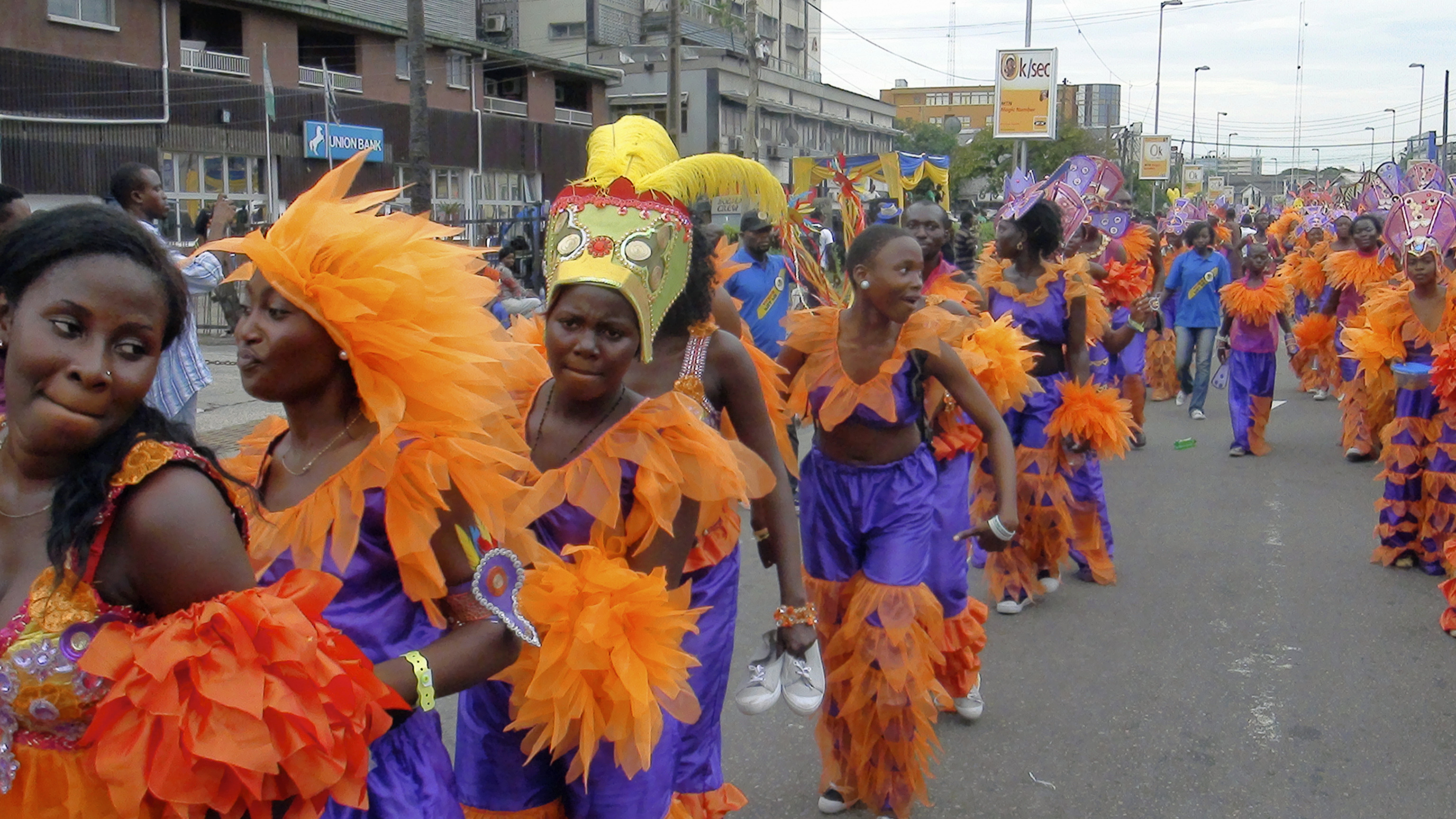 Lagos city carnival in pictures