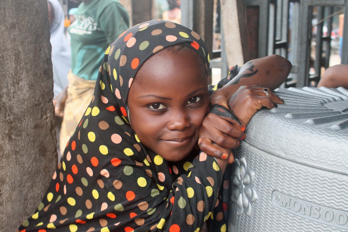 Hausa Girl In Suleja, Niger, Nigeria. (Picture Of The Week