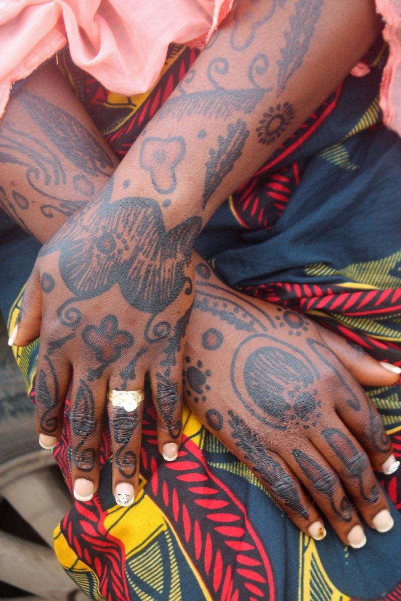 Yoruba Traditional Tattoos, Ogbomosho, Oyo State, Nigeria. #JujuFilms