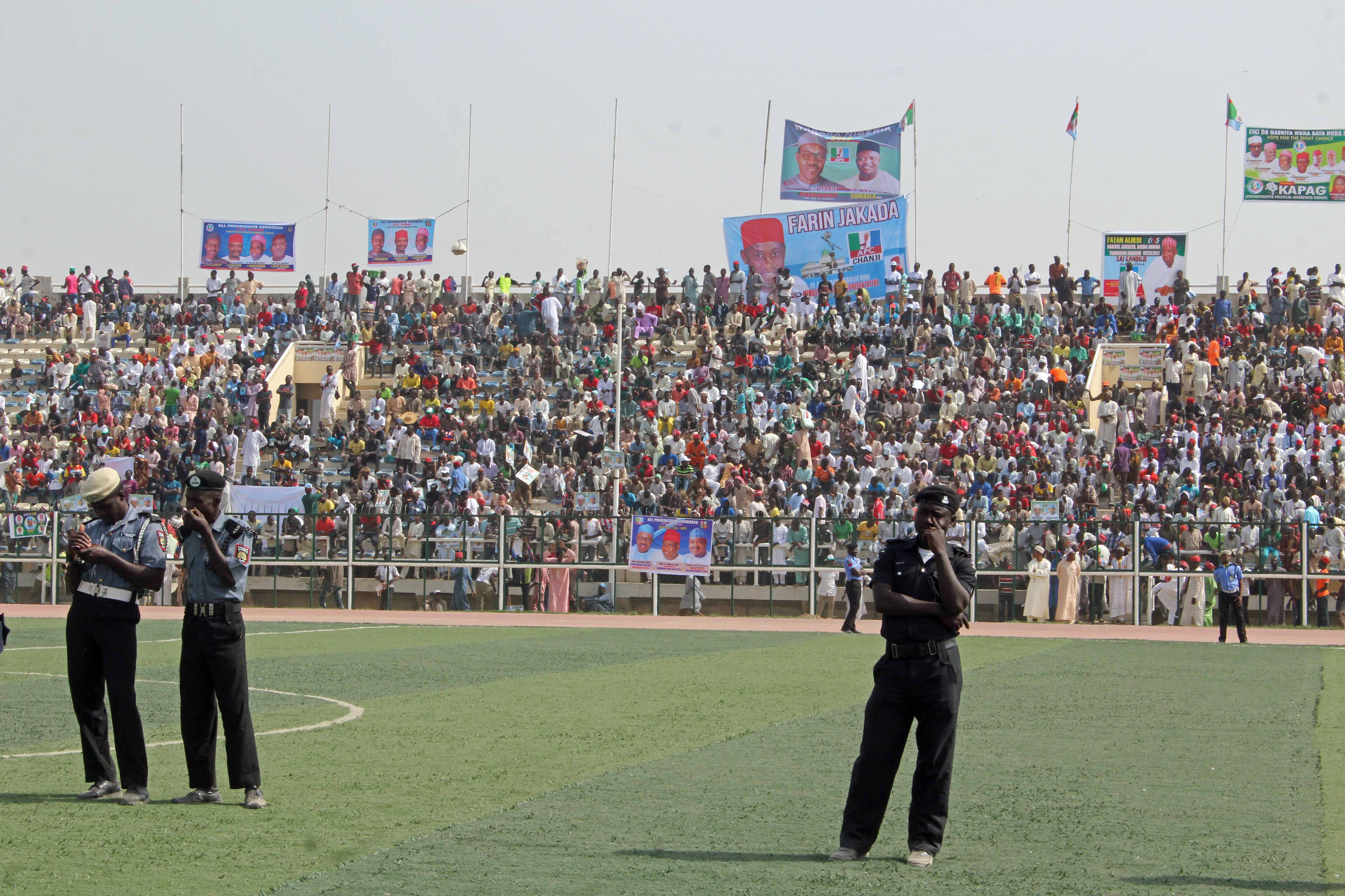 Buhari Campaign Rally (Kaduna)