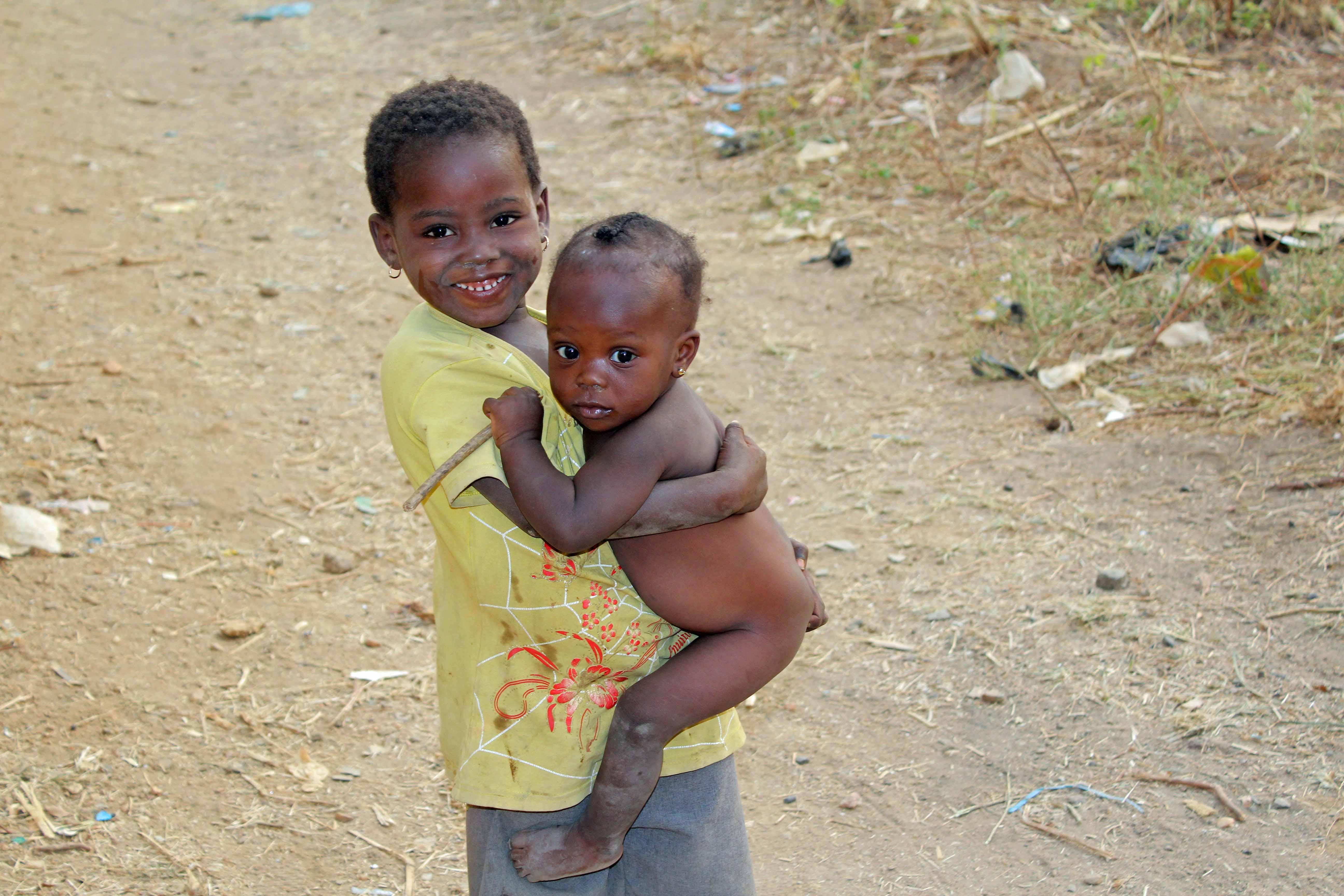Eggon Children in Langa Langa