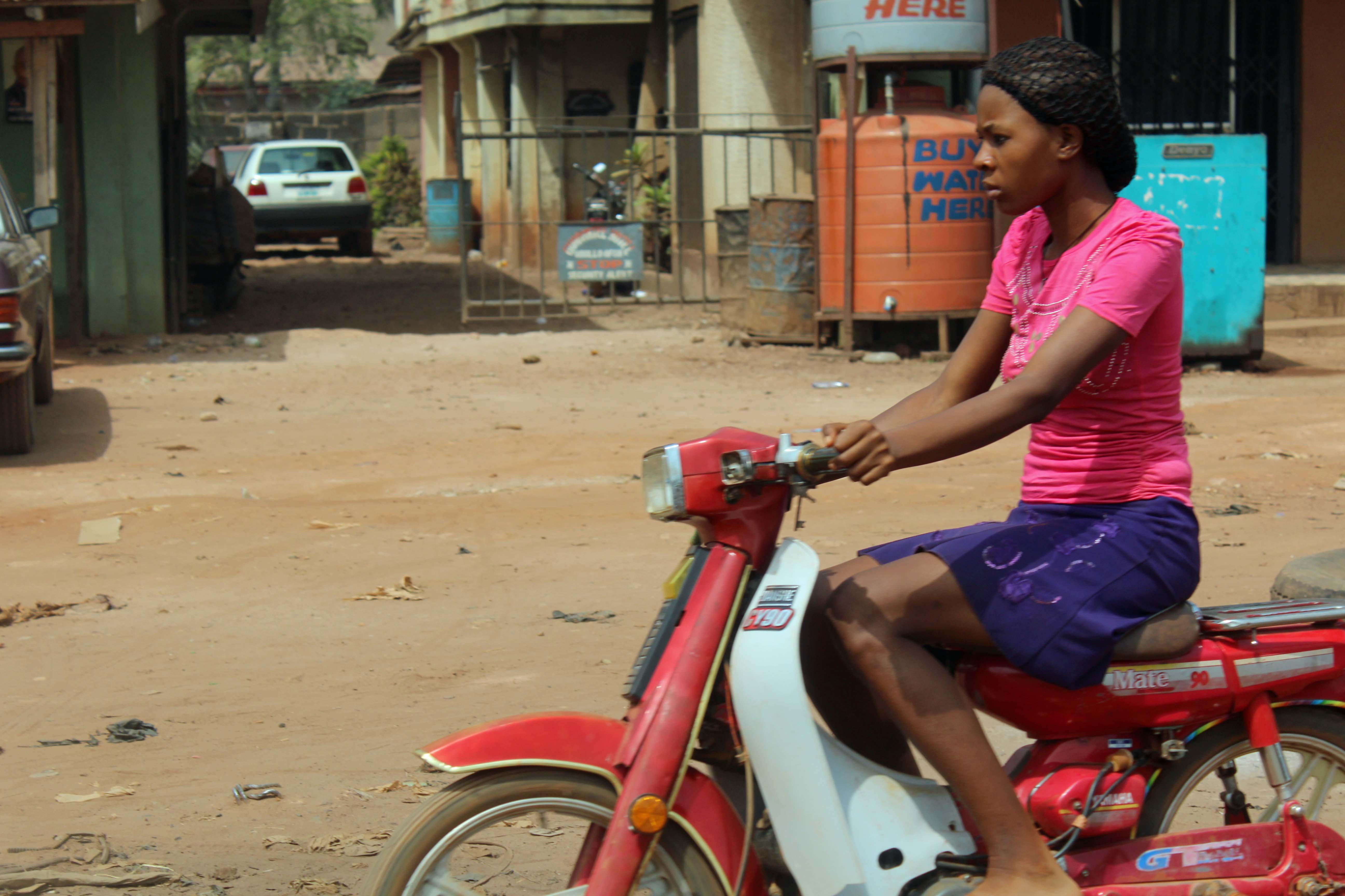 Igbo Girl in Enugu