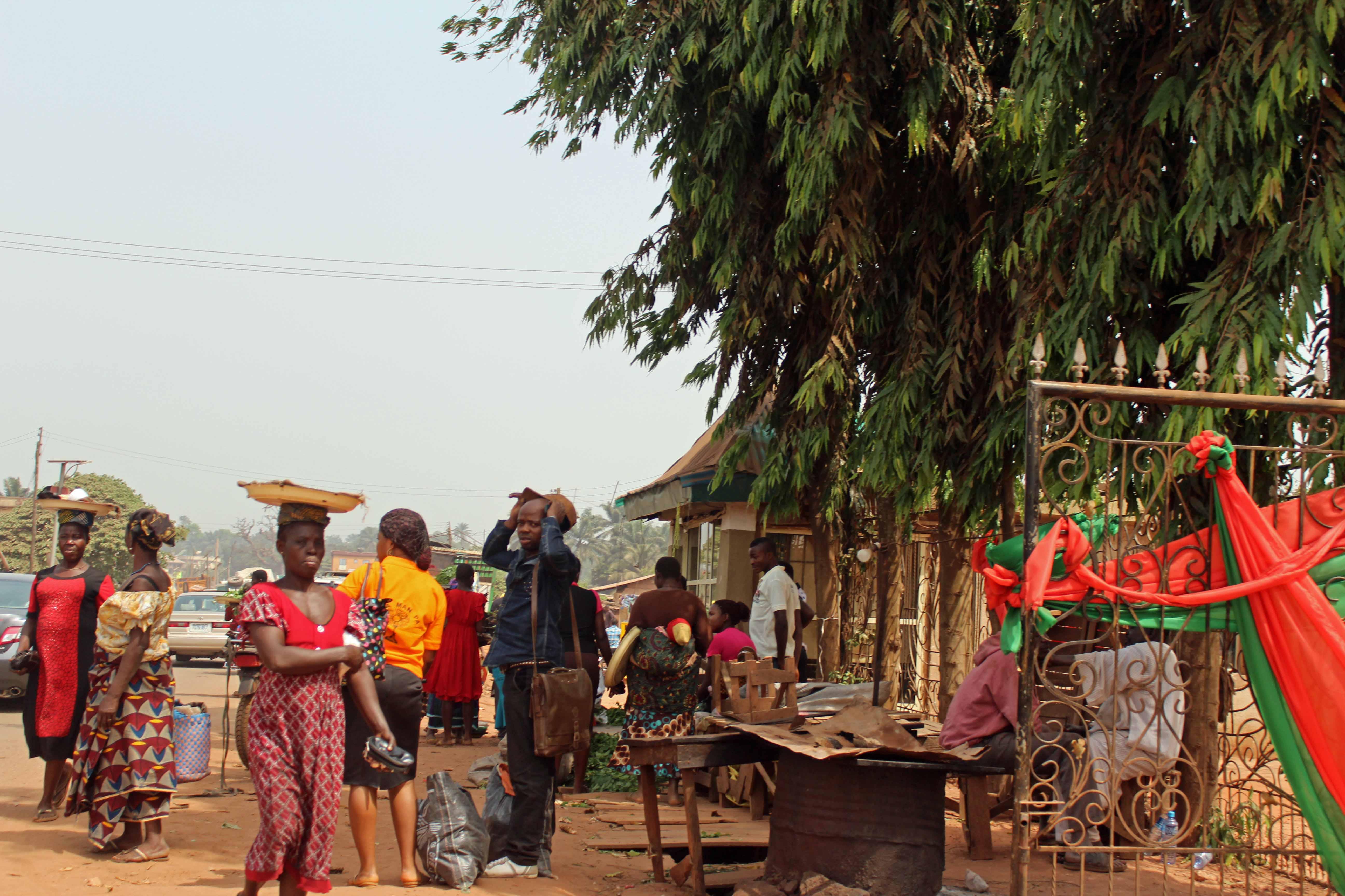 Street Hawkers in Enugu