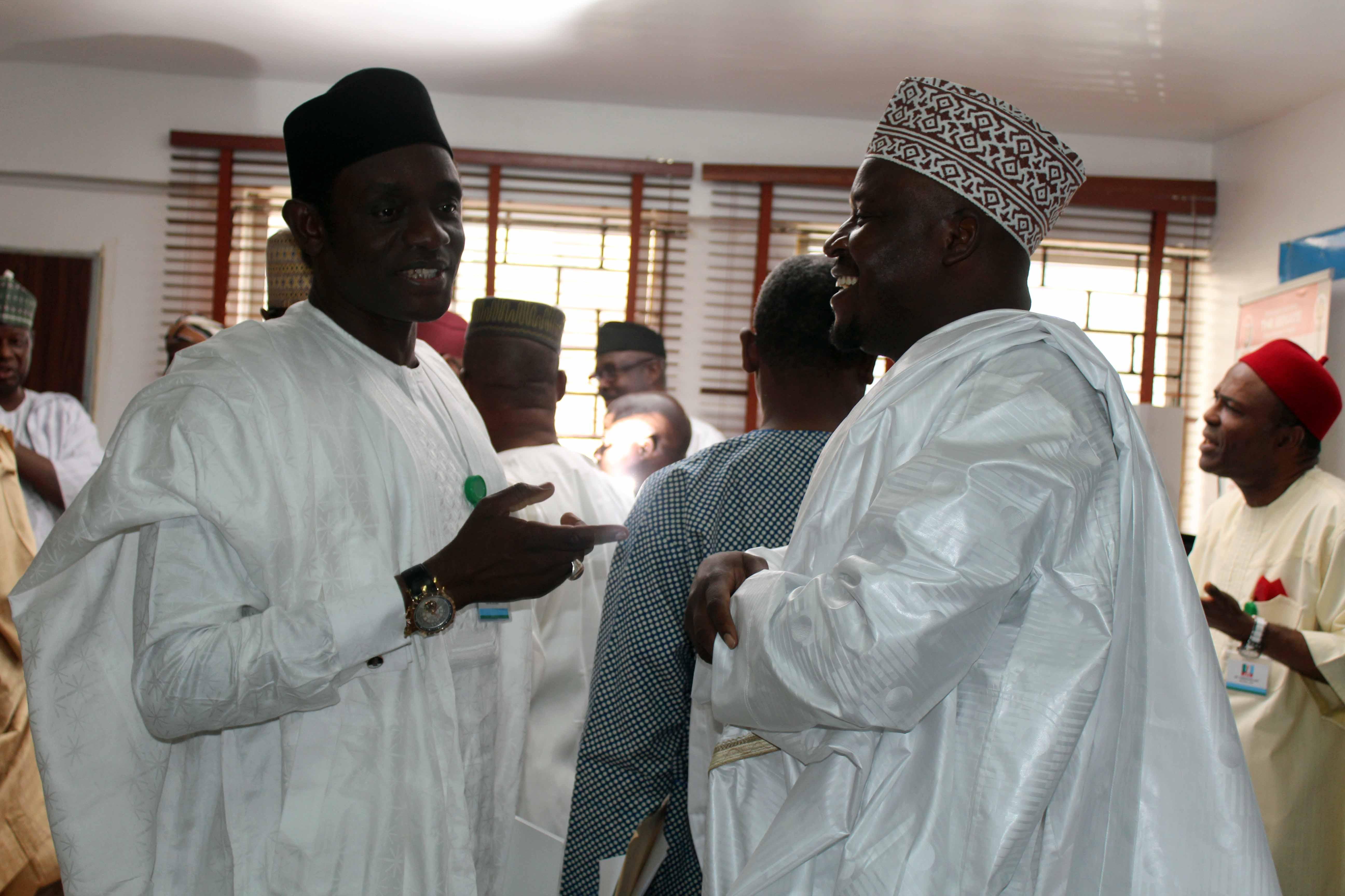 All Progressive Congress (APC) Meeting Abuja