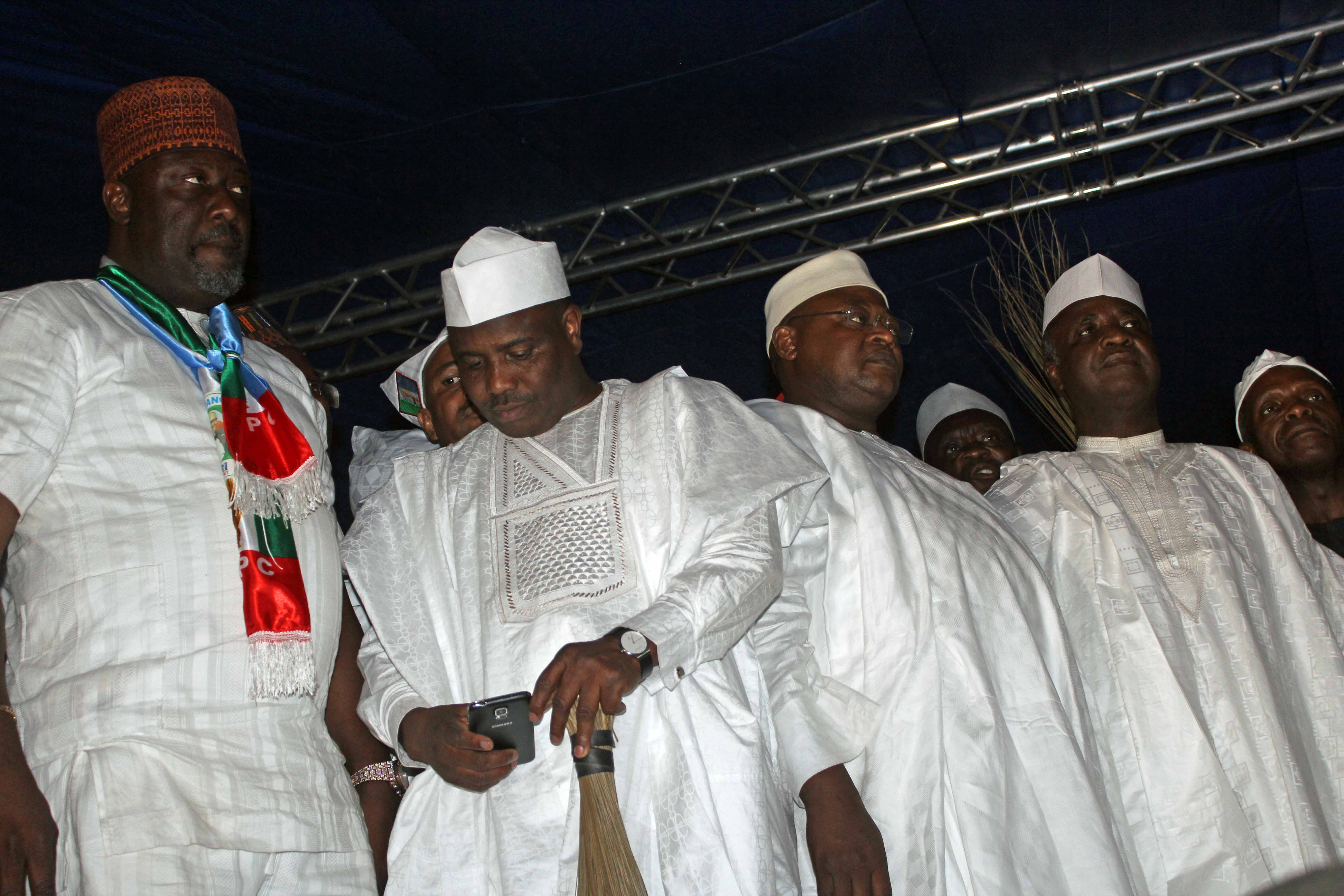 Muhammadu Buhari Presidential Campaign Rally 2015 Kaduna