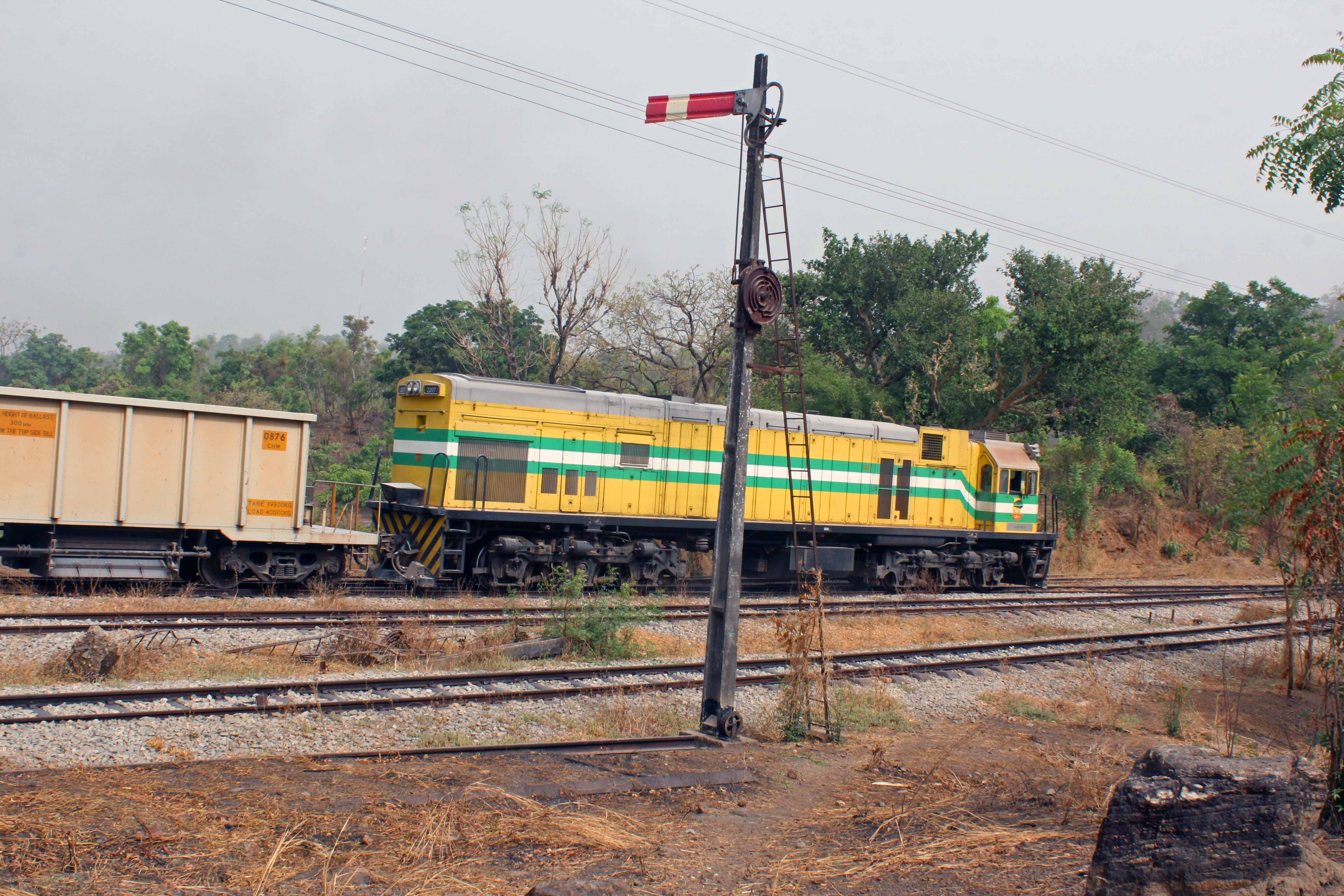 """nigerian railways corporations """"our railways have been comatose for some time,"""" said niyi alli, the director of  operations at the nigerian railway corporation """"this is the."""