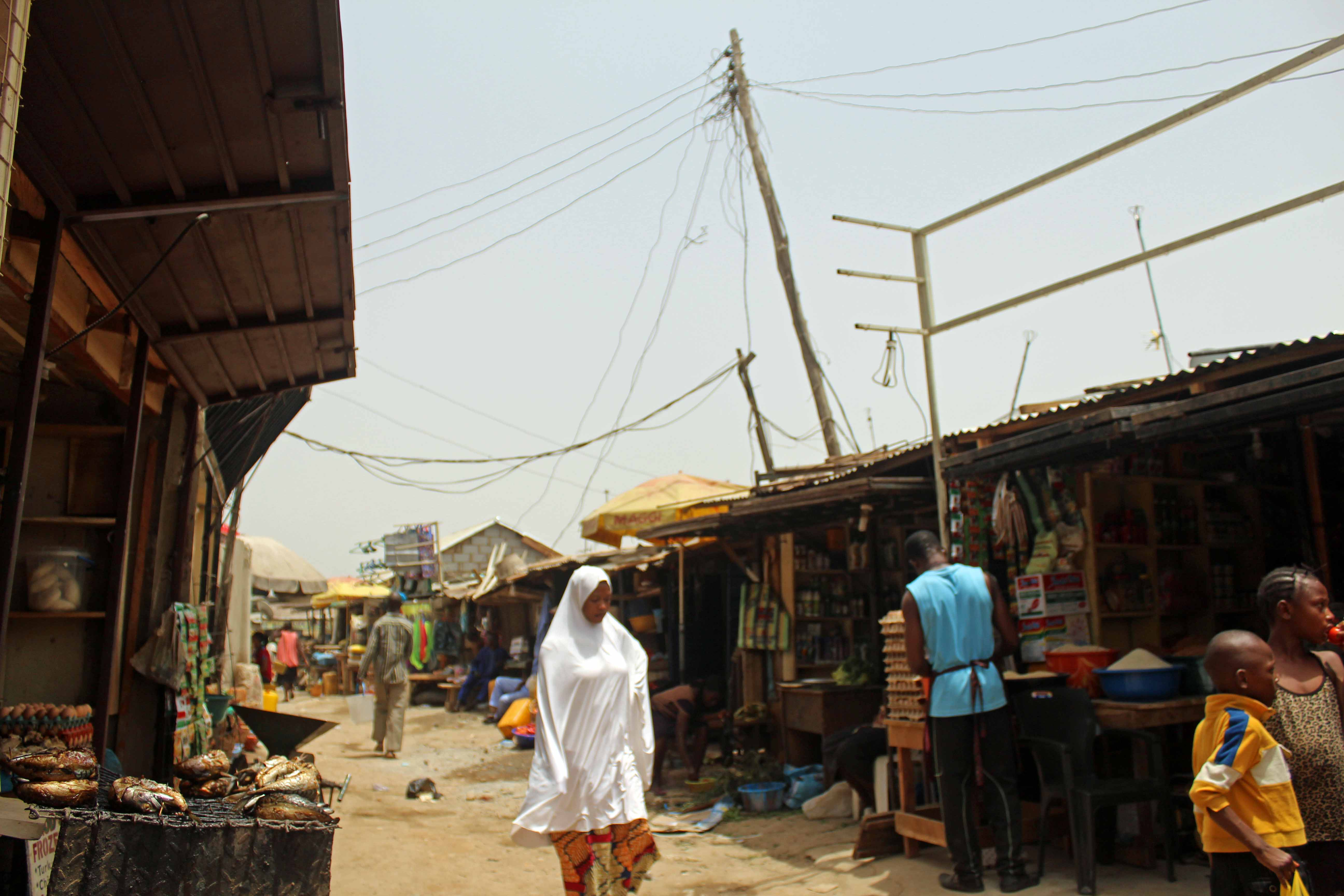 Street Market Gwarinpa