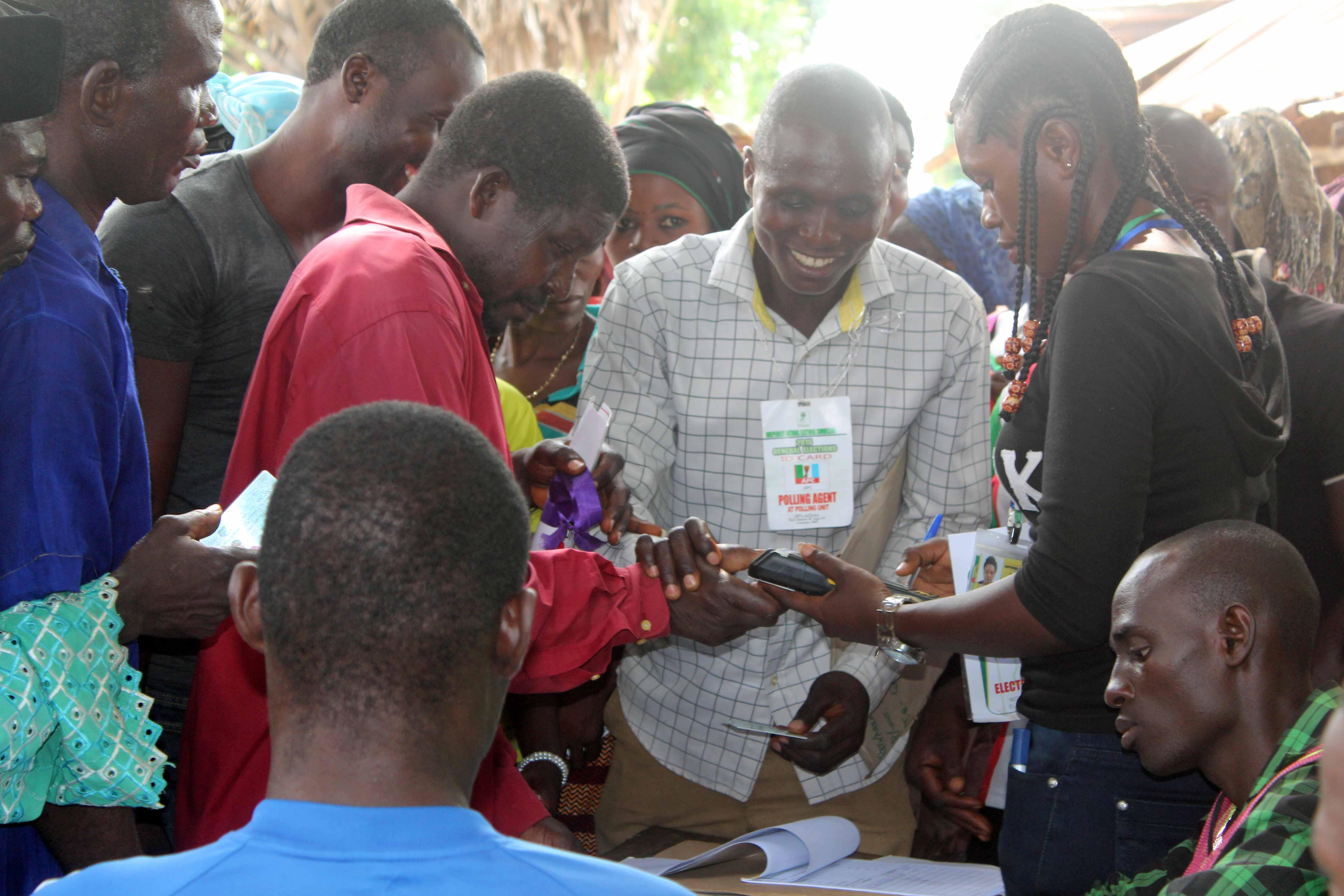 Voting in Nigeria Langa Langa Polling Unit