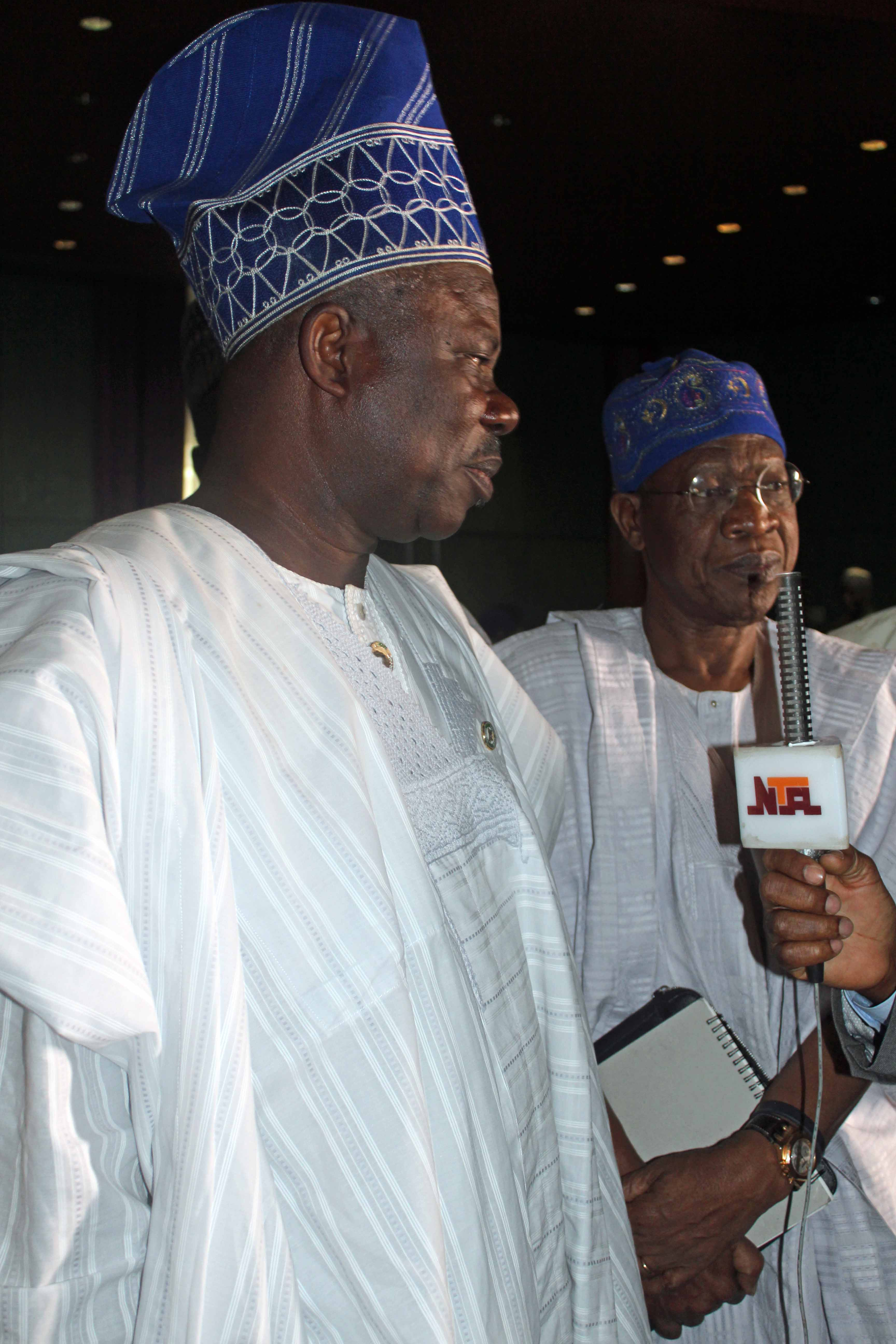 Governor Ibikunle Amosun & Lai Mohammed