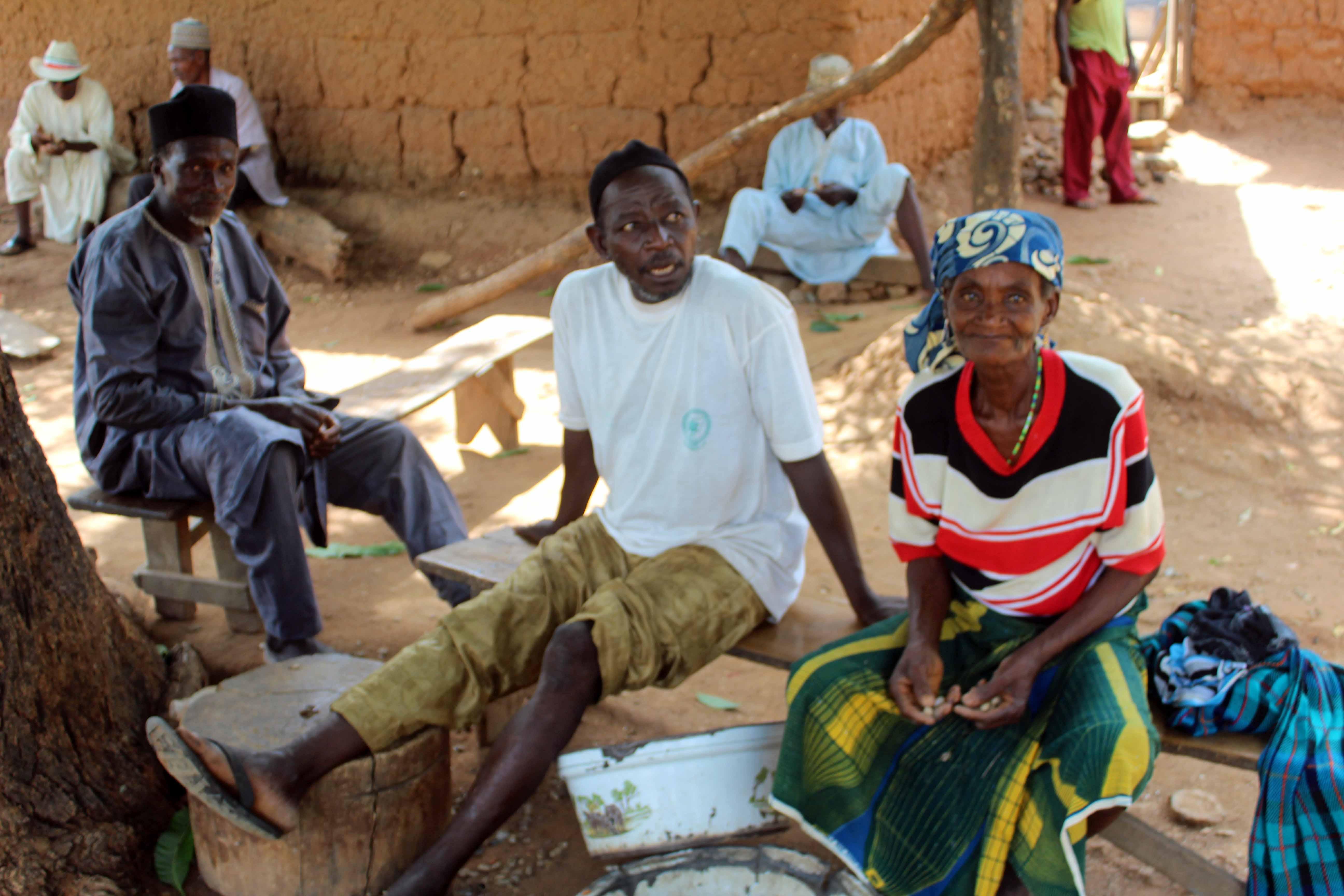 Mada, Eggon & Lendere in Langa Langa Village