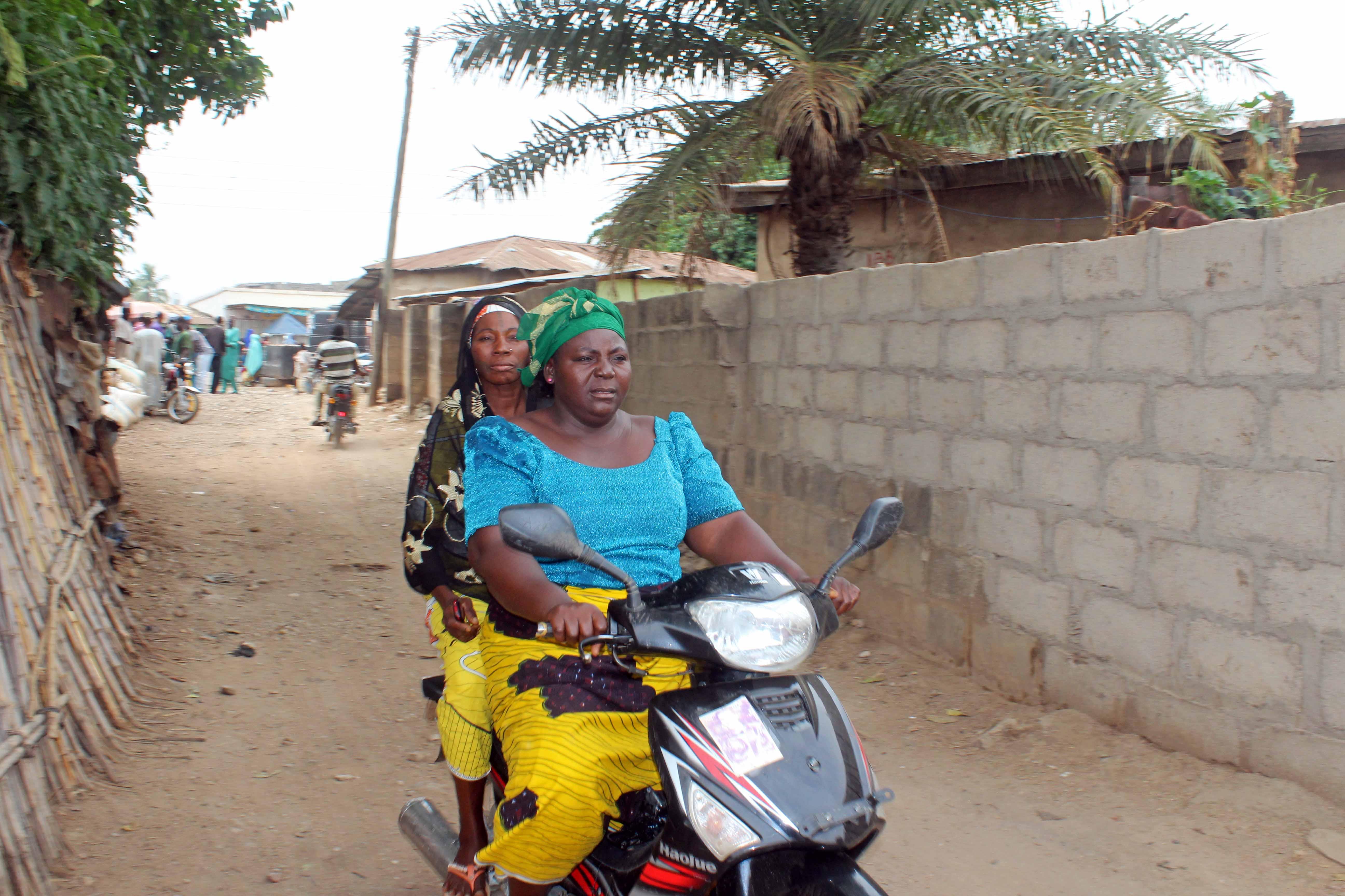Motorcycling in Nasarawa Eggon