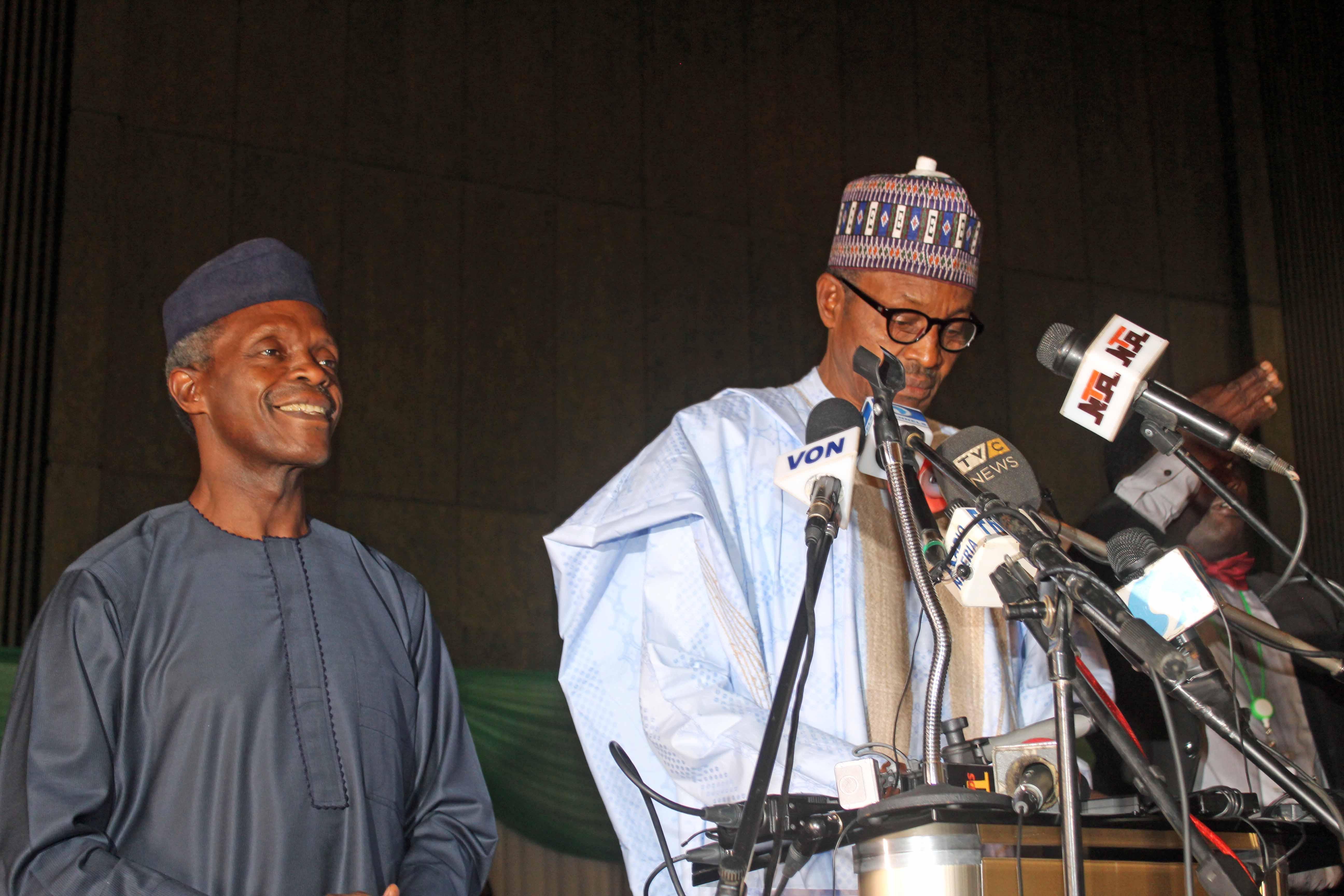 Muhammadu Buhari & Yemi Osinbajo