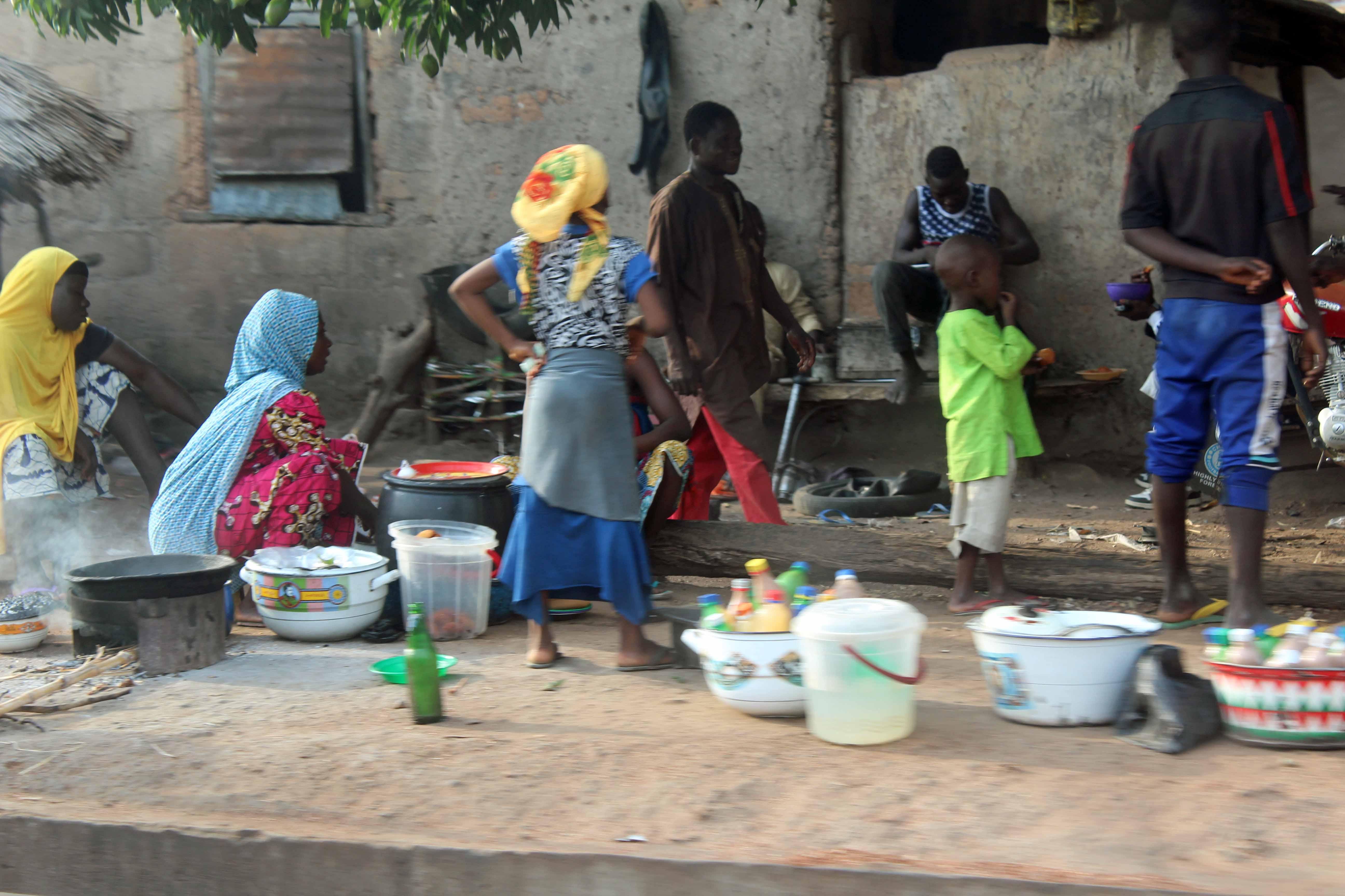 Street Food Nasarawa Eggon Nigeria