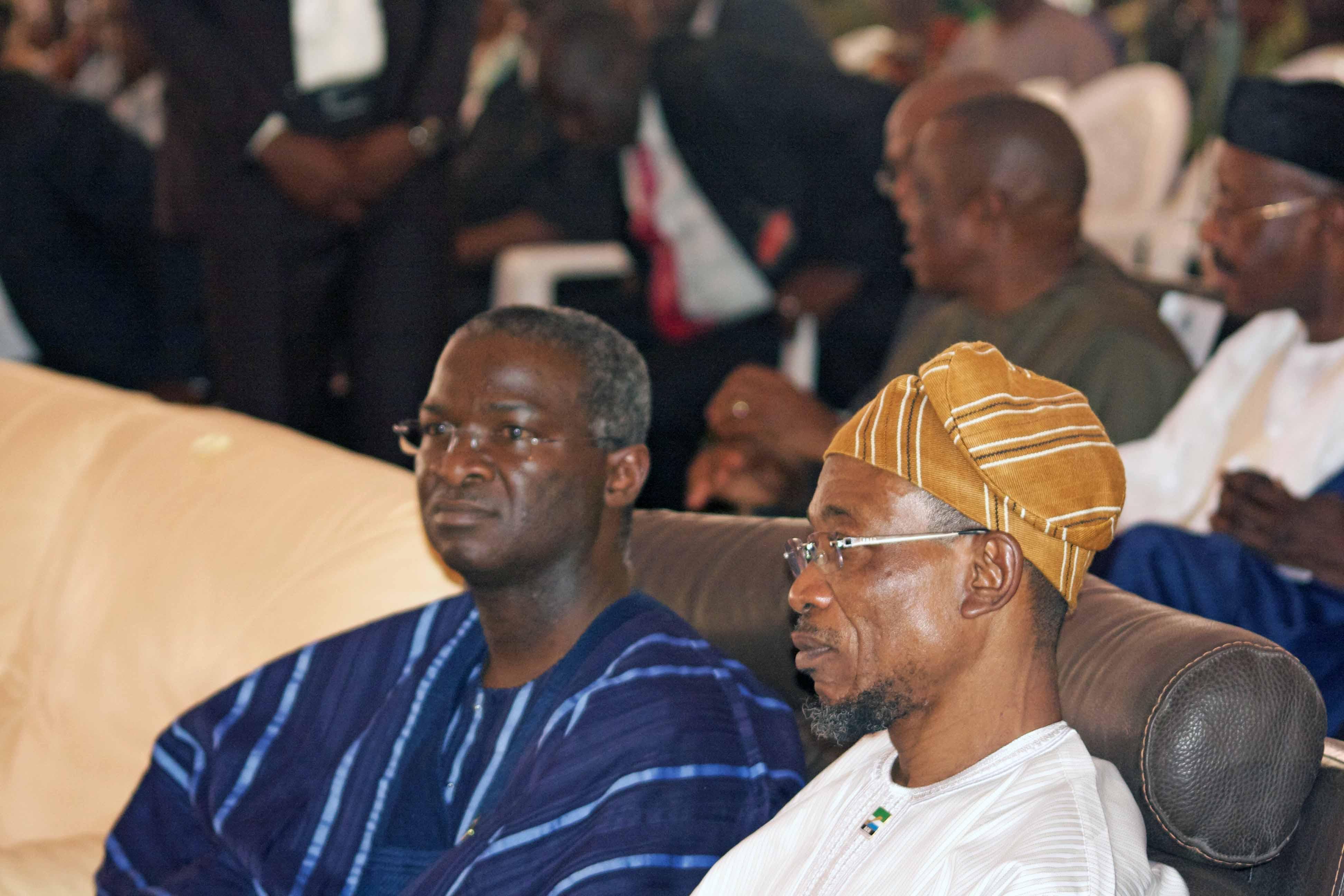 Gov Babatunde Fashola & Gov Rauf Aregbesola