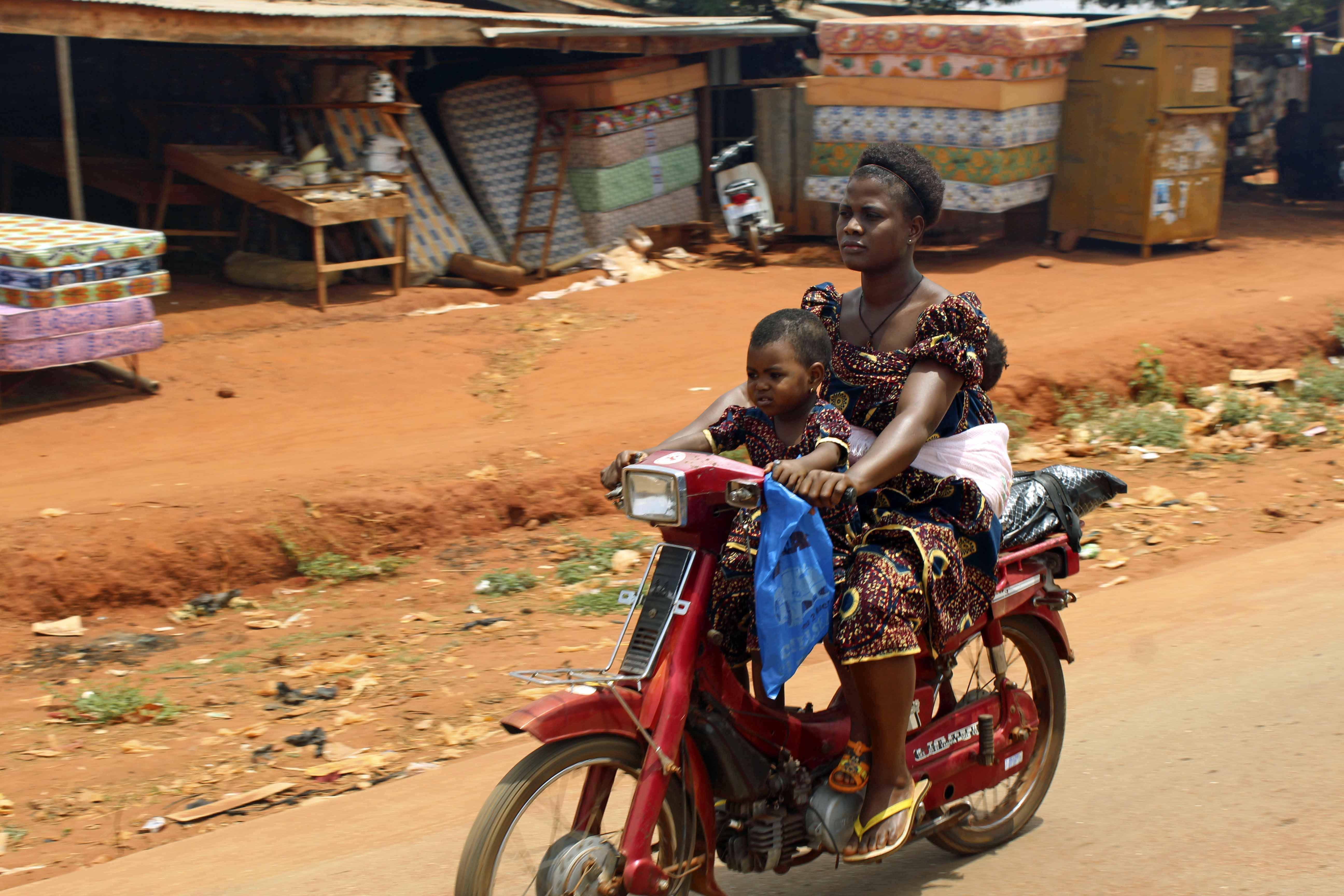 Igbo Mother & Her Babies