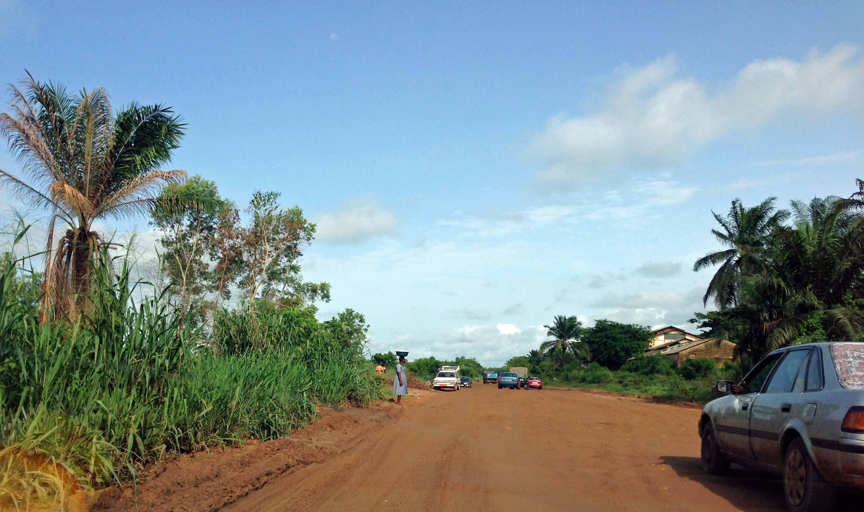 Benin - Togo Road