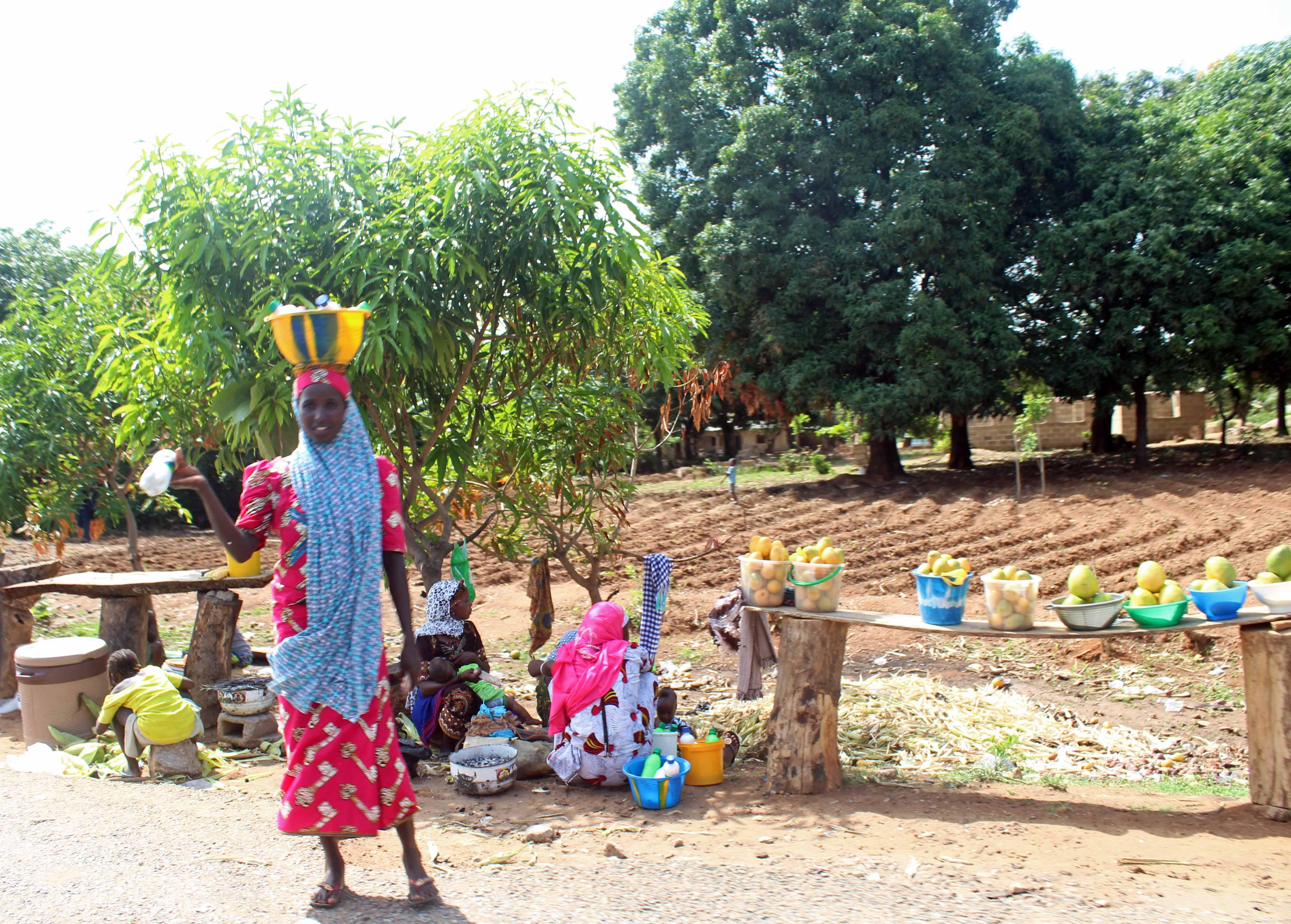 Roadside Hawker Keffi Nigeria
