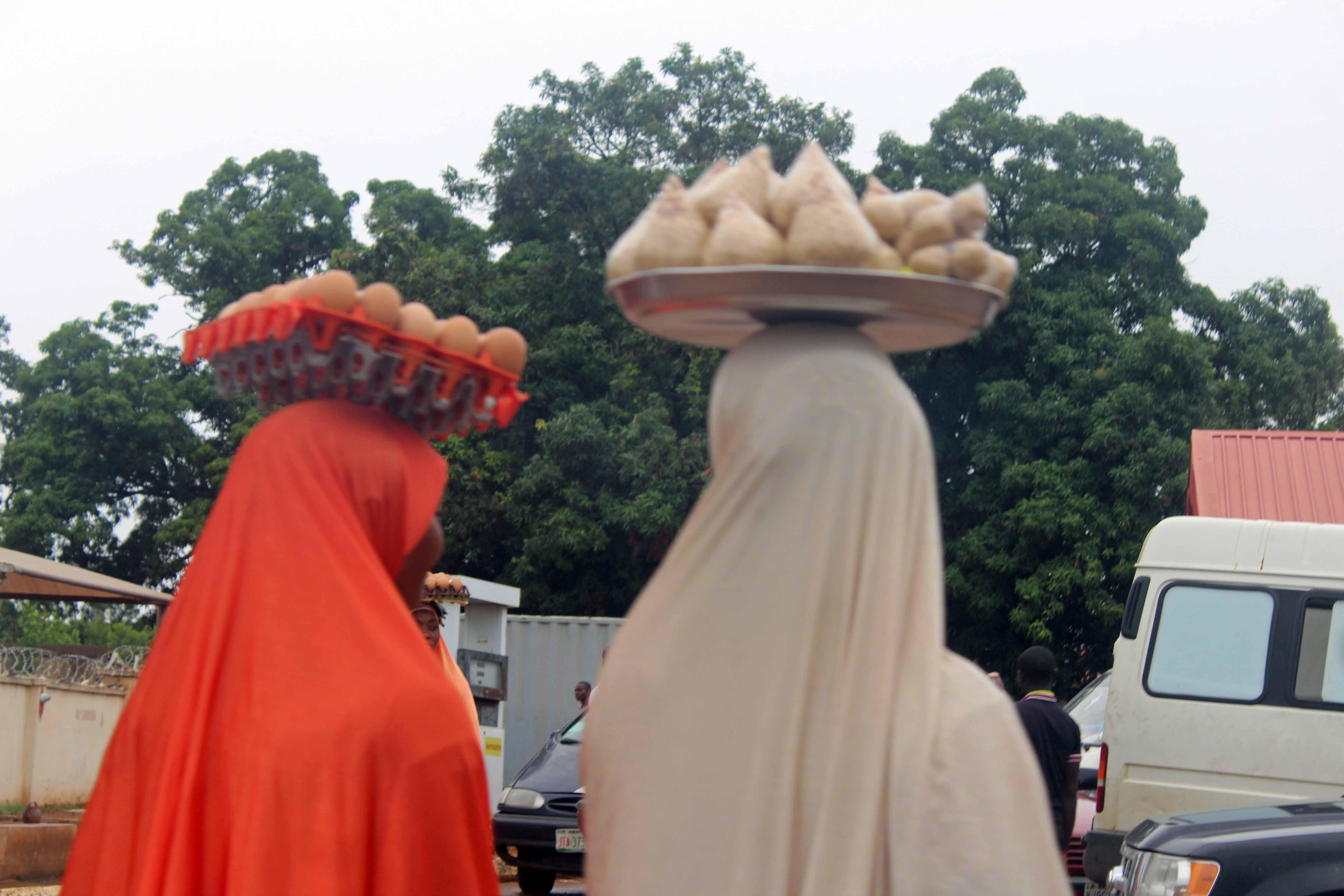 Street Hawkers Gegu Kogi State Nigeria