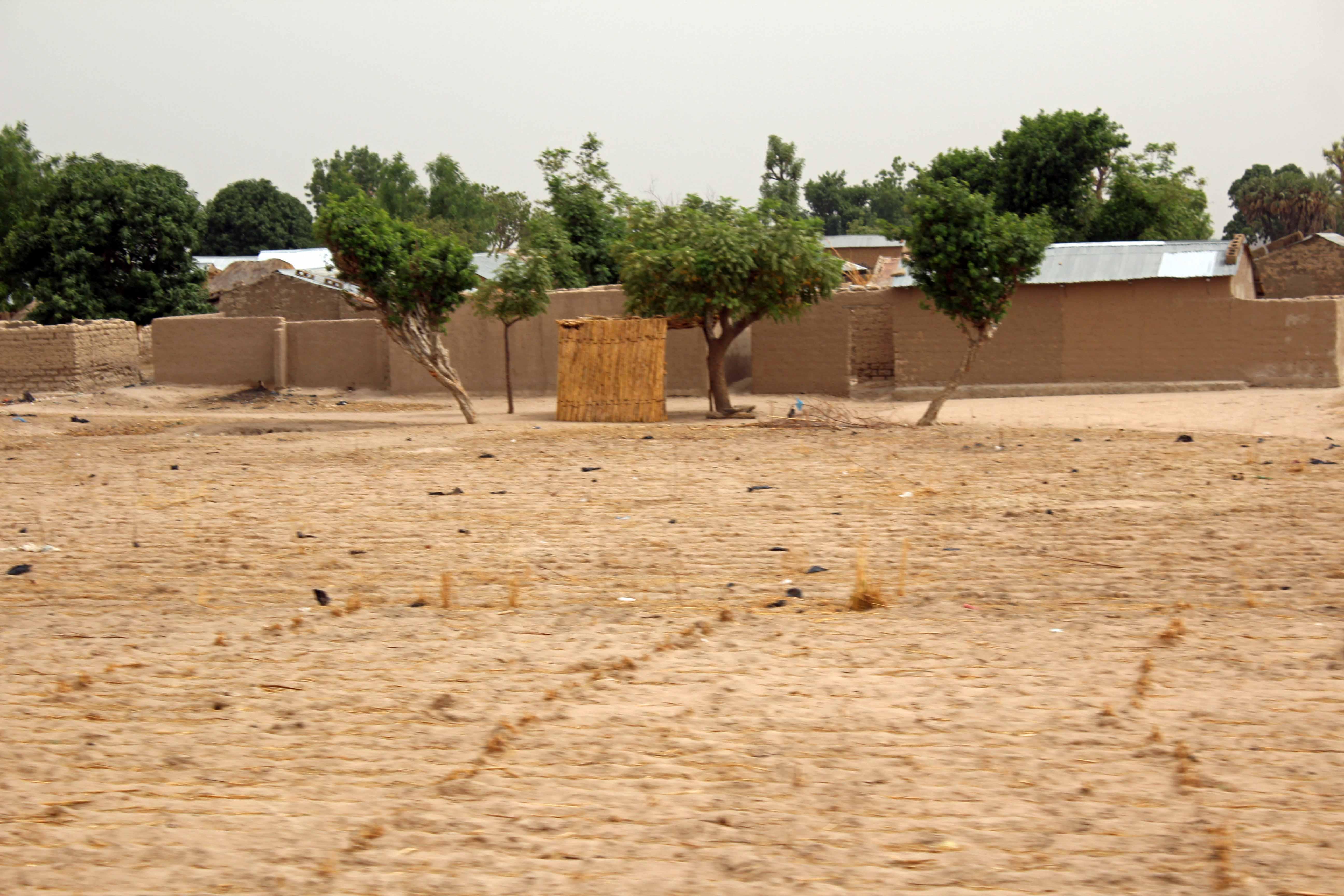 Adobe Village in Bauchi Nigeria