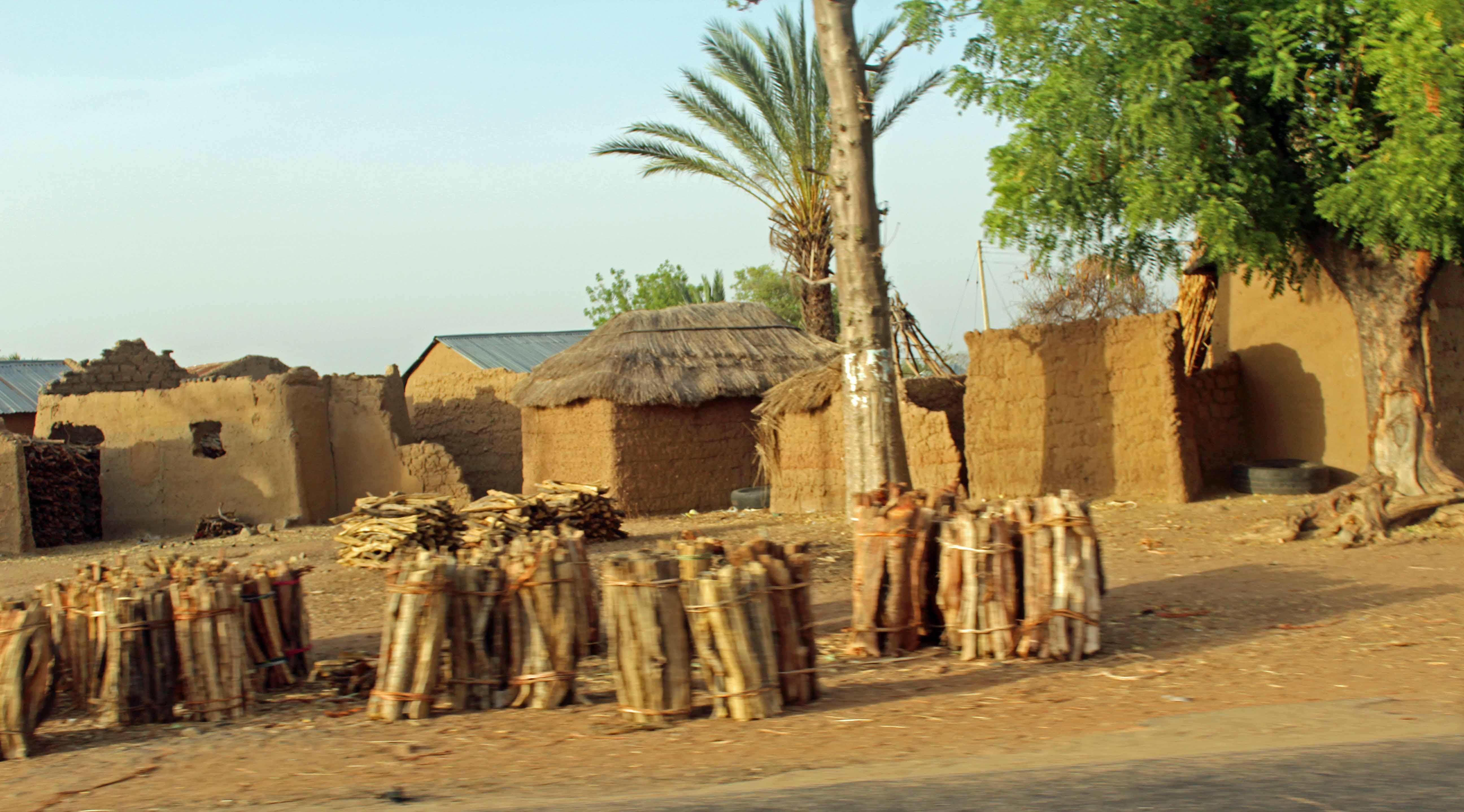 Adobe Village in Gombe Nigeria