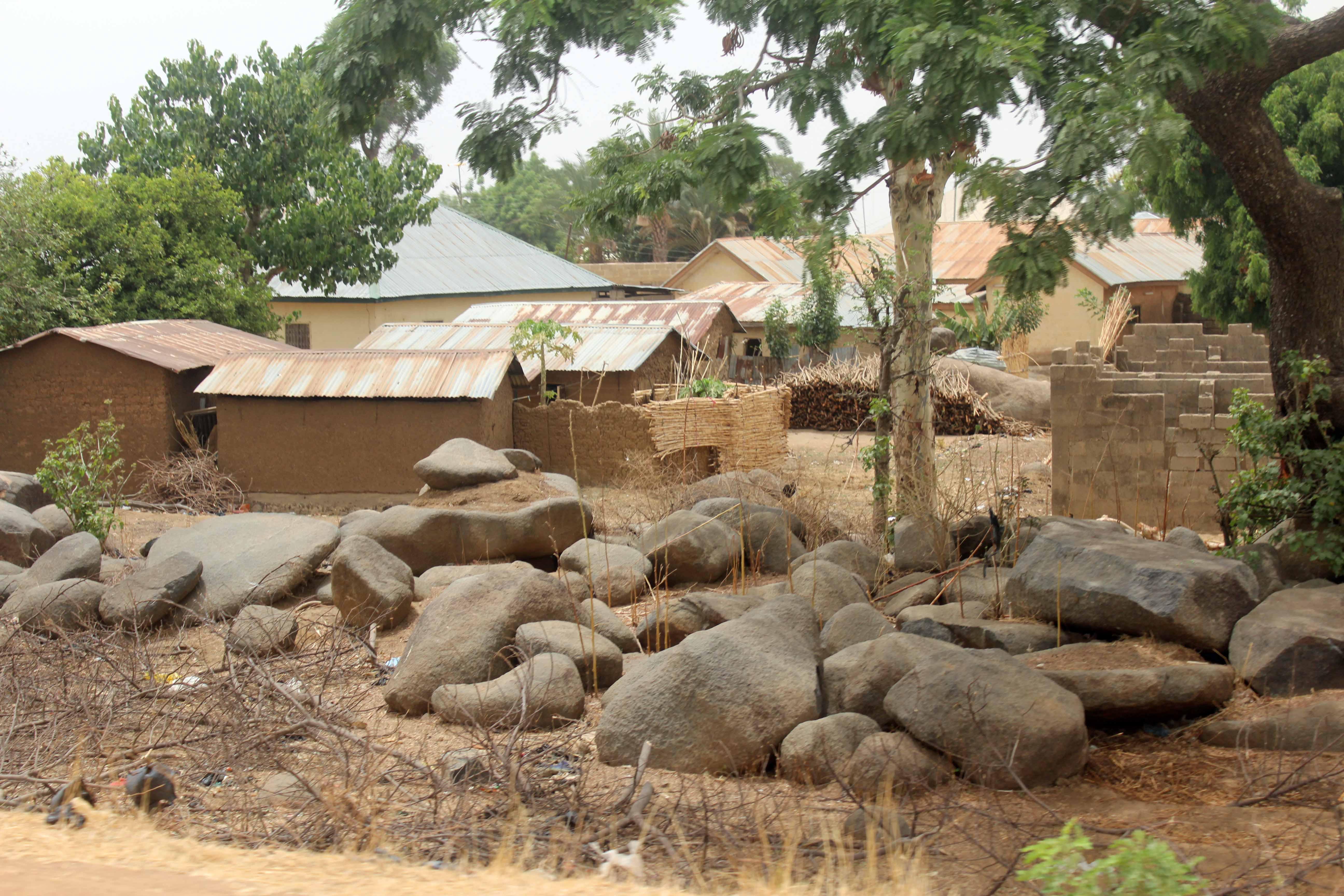 Adobe Village in Jos Nigeria