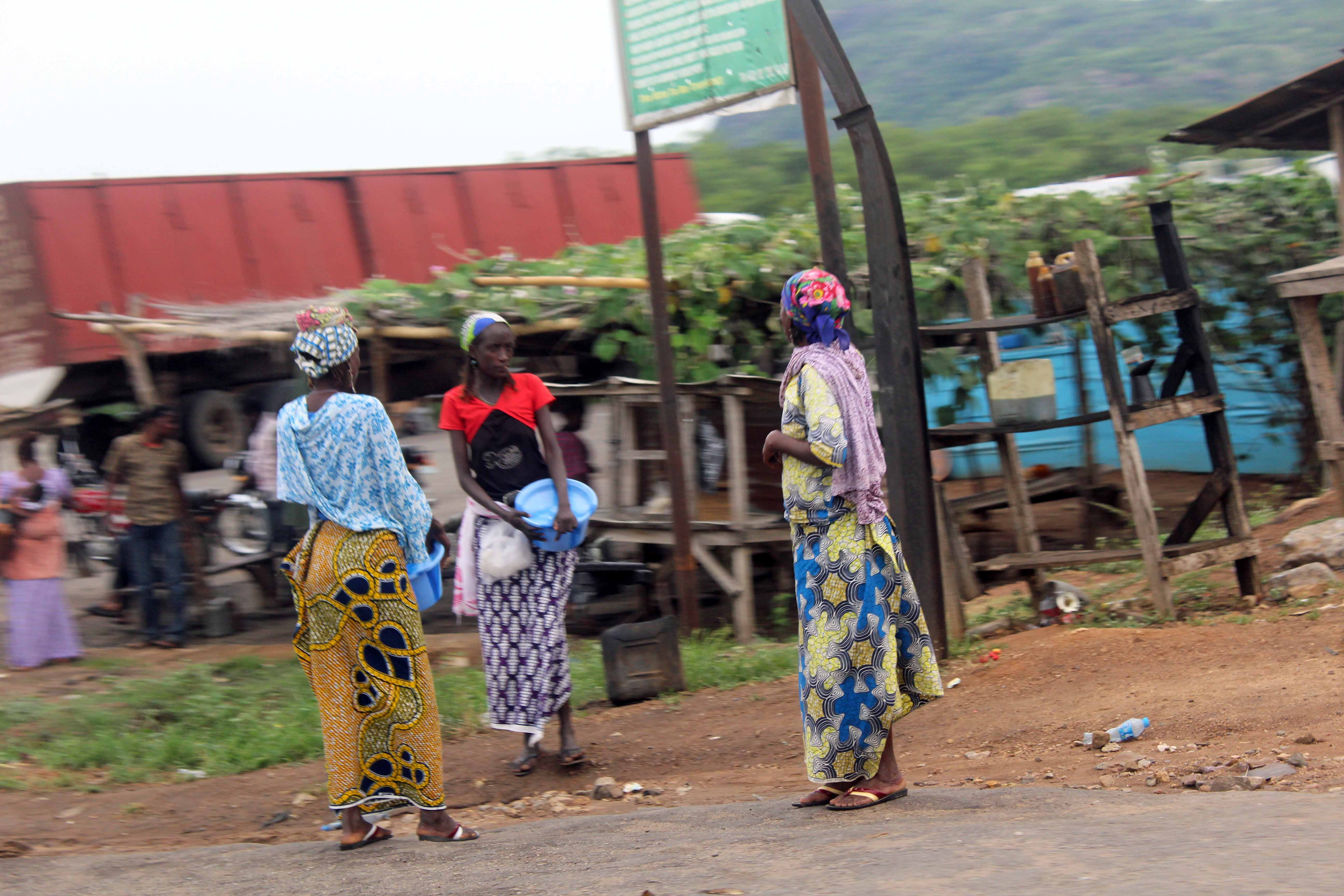 Fulani Women in Kogi State Nigeria.