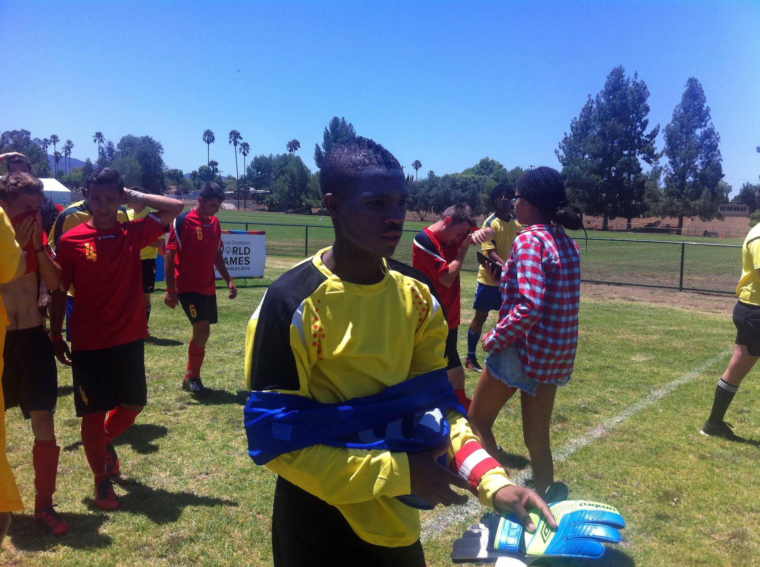 South Africa Soccer Team