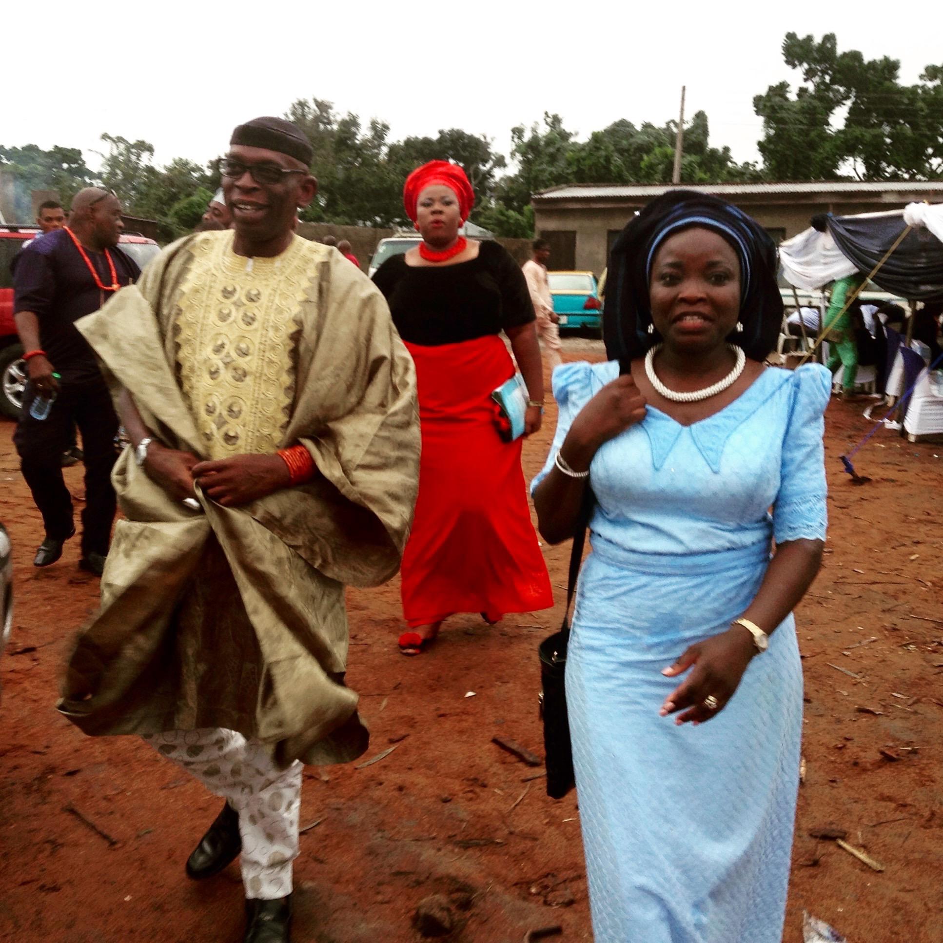 Crown Prince Leke Oyinlola in Idoani Ondo State Nigeria