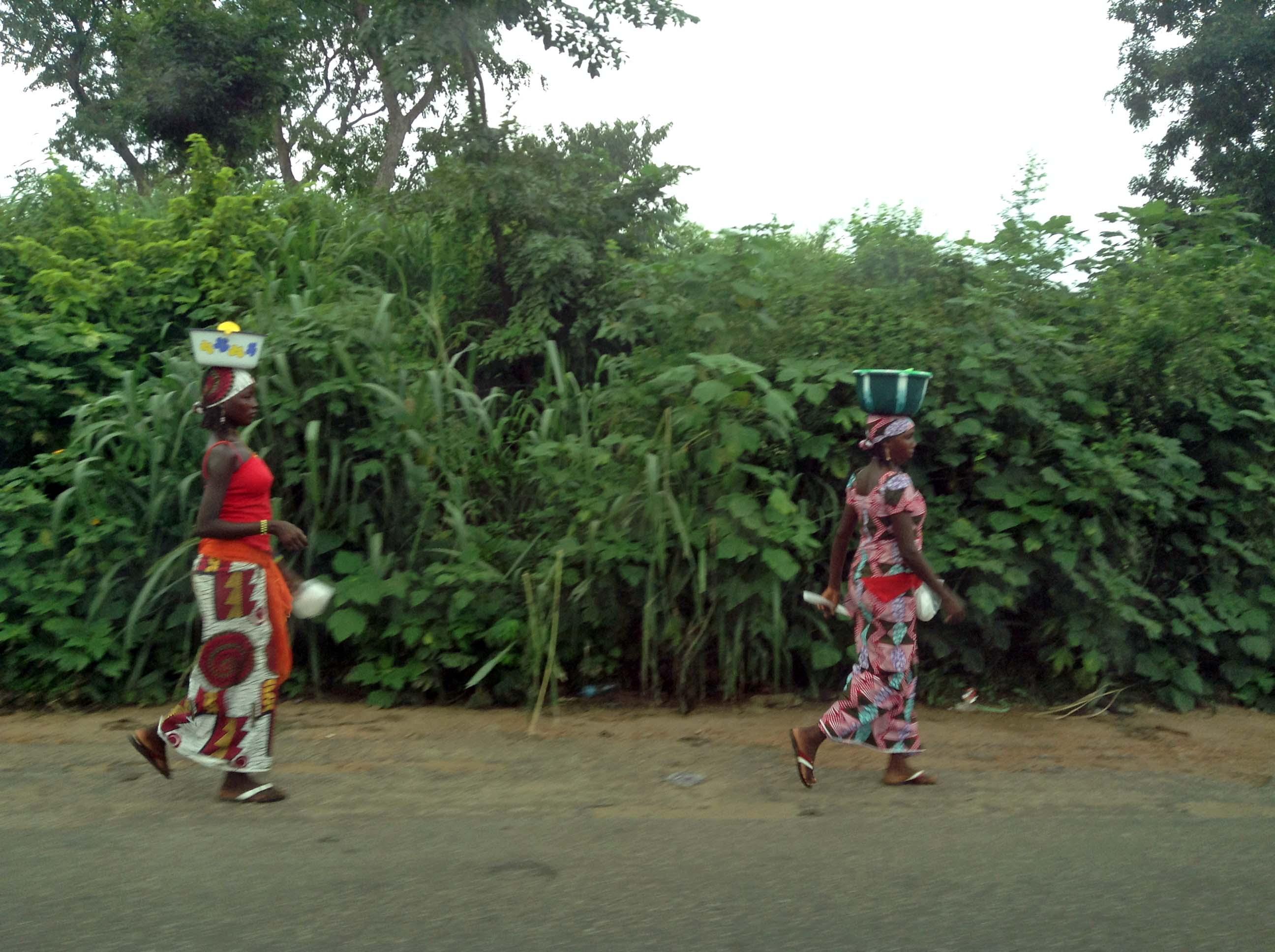 Fulani Women in Oka Ondo State Nigeria
