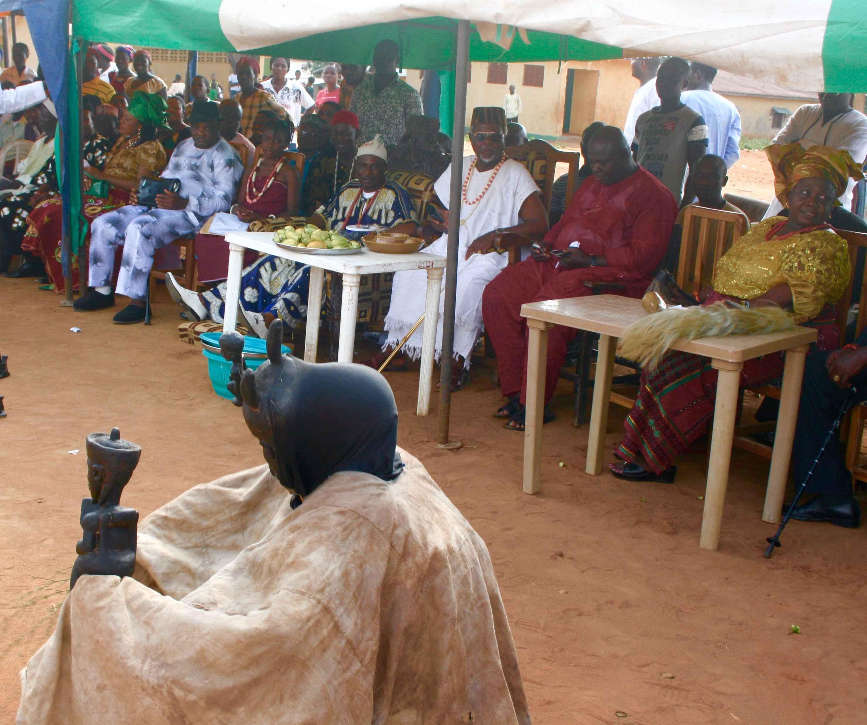 igbo Masquerade @ Igbo New Yam Festival