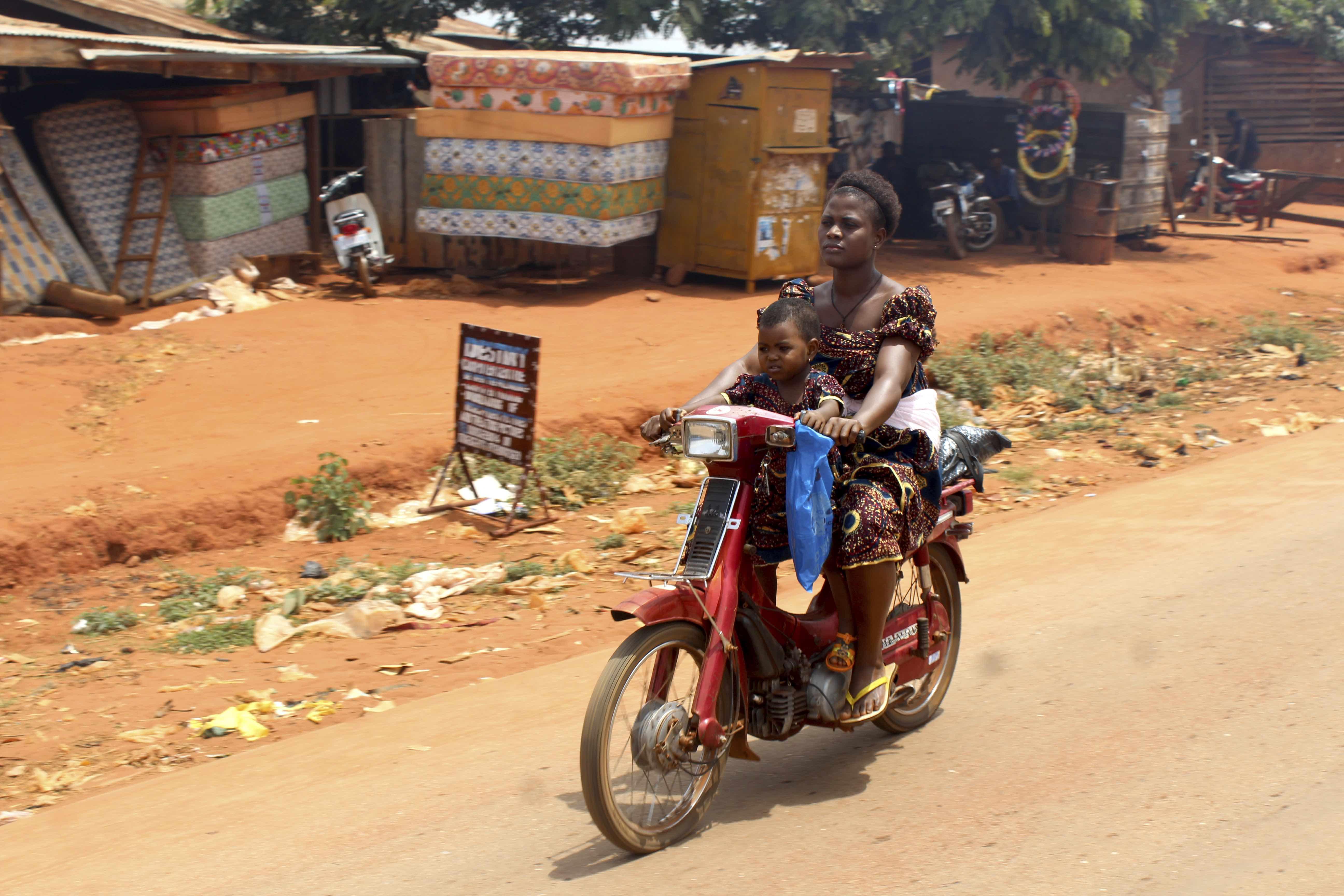 Igbo Mother in Iheaka Village Enugu