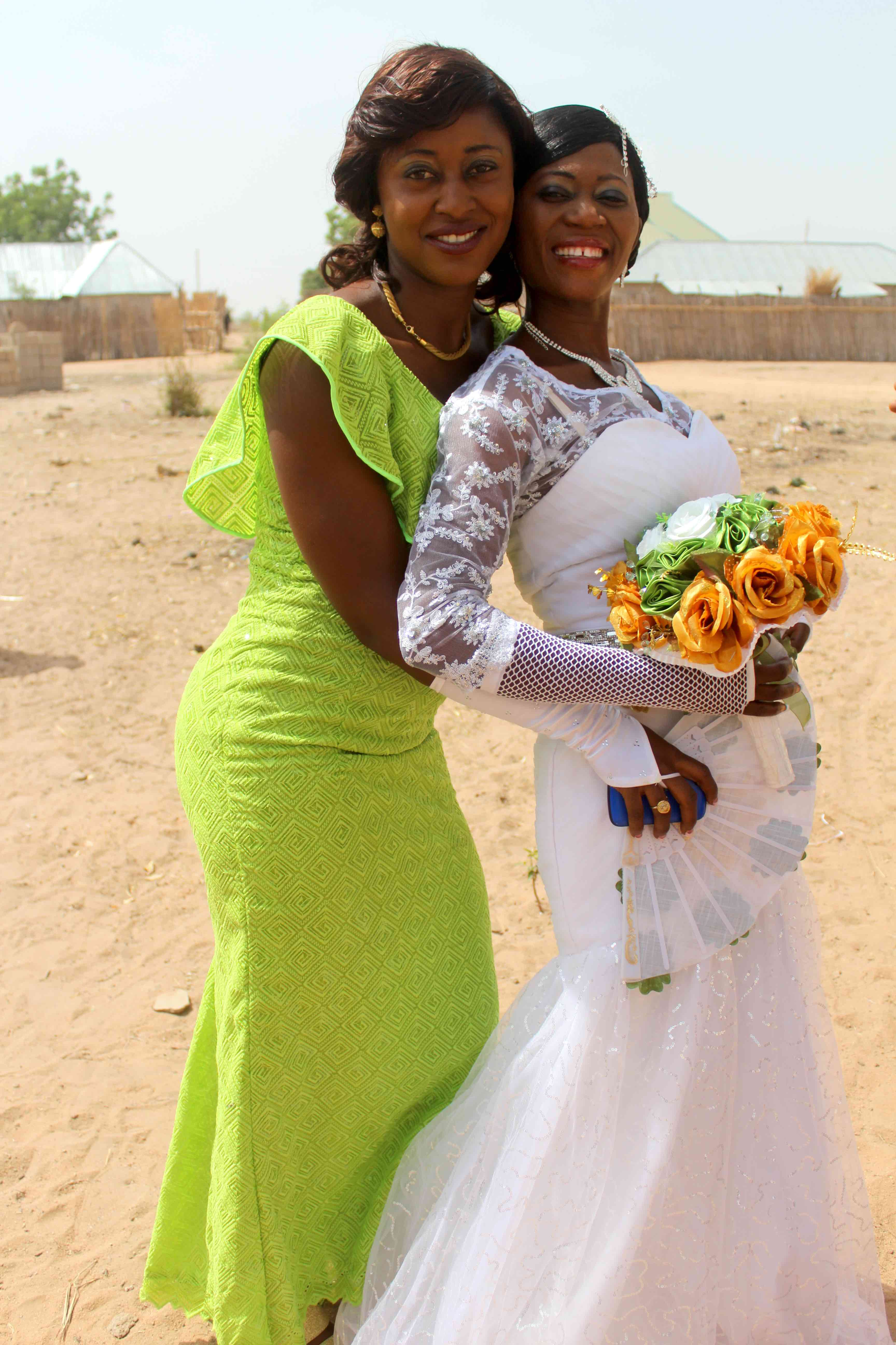 Nigerian Bride & Bridesmaid