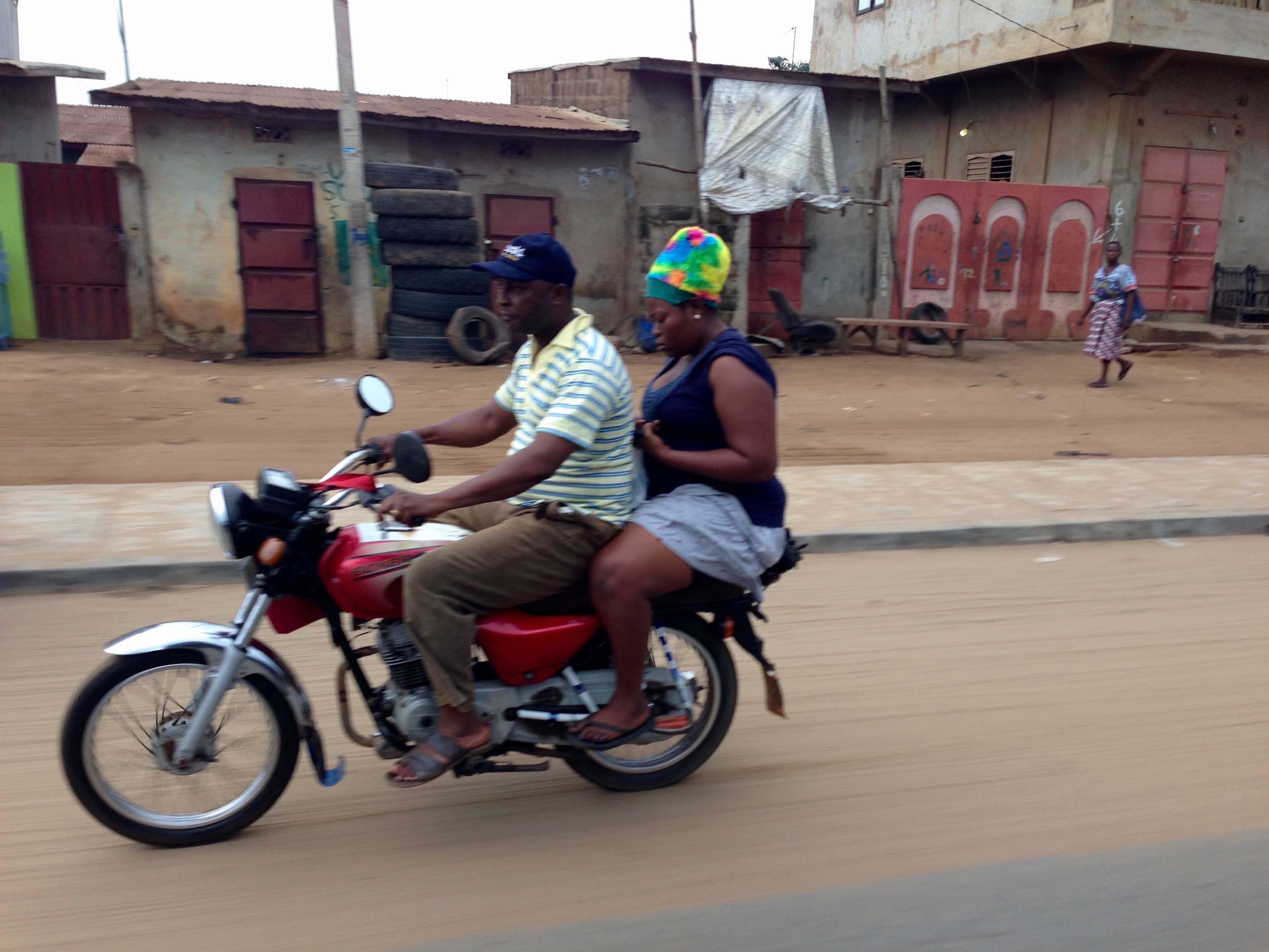 Motorcycling in Kokotomey