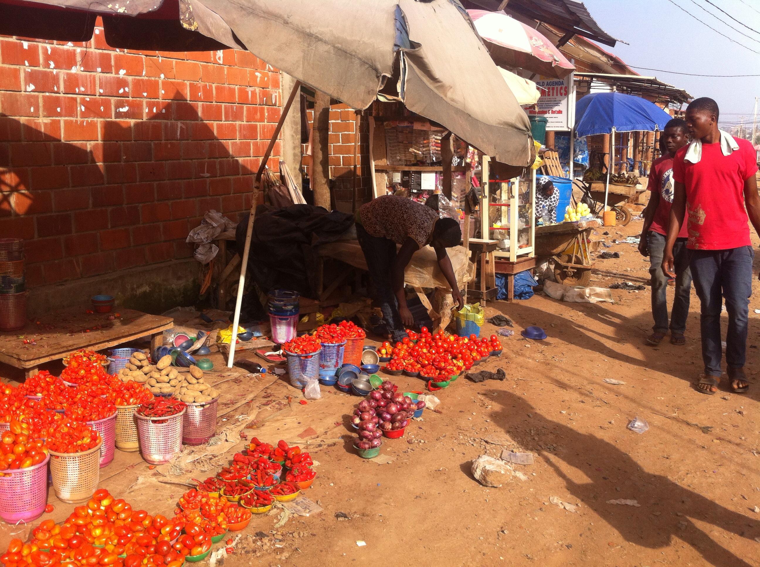 Open Market in Dutse