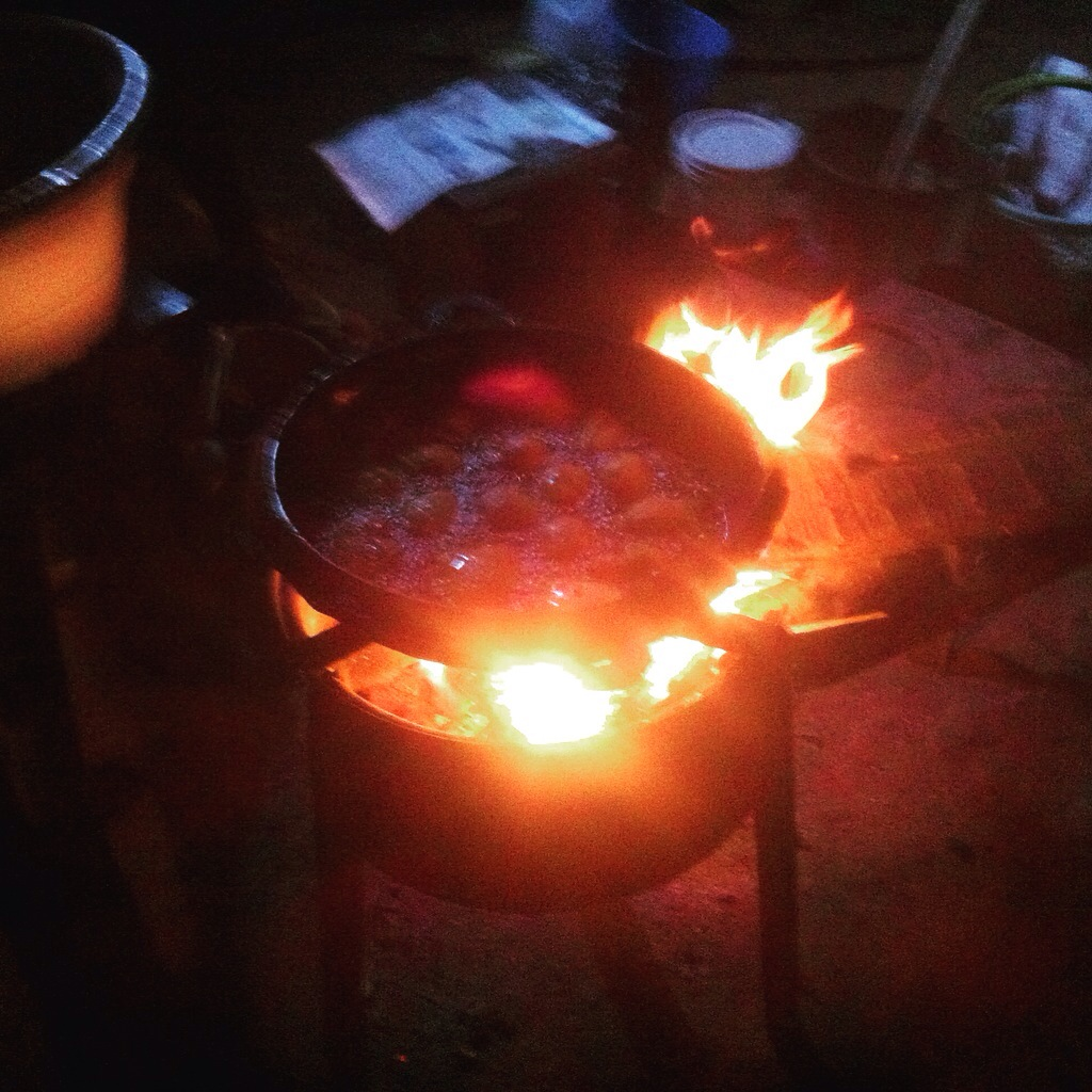 Frying Akara in Oke Omiru, Osun, Nigeria. #JujuFilms