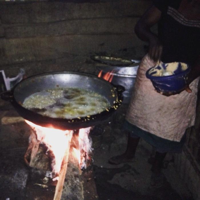 Woman frying akara in Ilaje, Osun, Nigeria. #JujuFilms