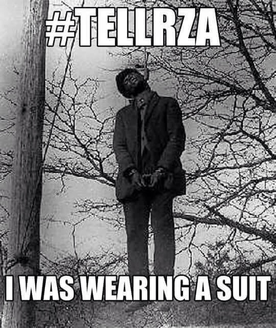 Tell RZA I was Wearing a Suit