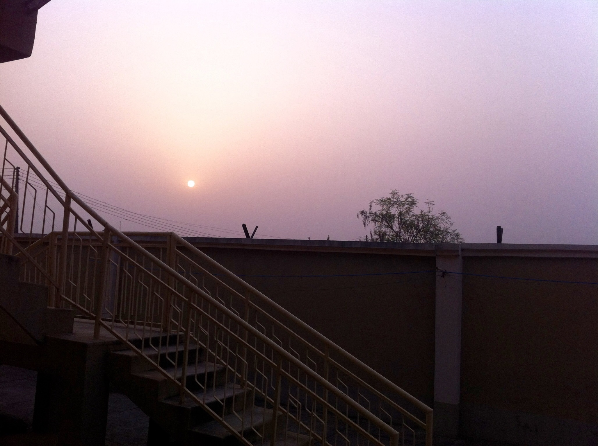 Sunset in Ilesa