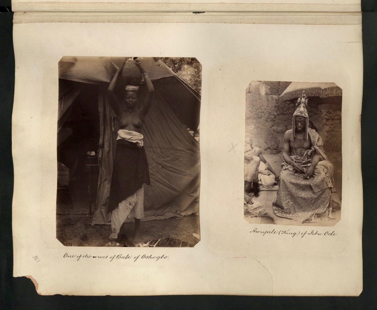 One Of The Wives of Bale of Oshogbo & Awujale of Ijebu Kingdom