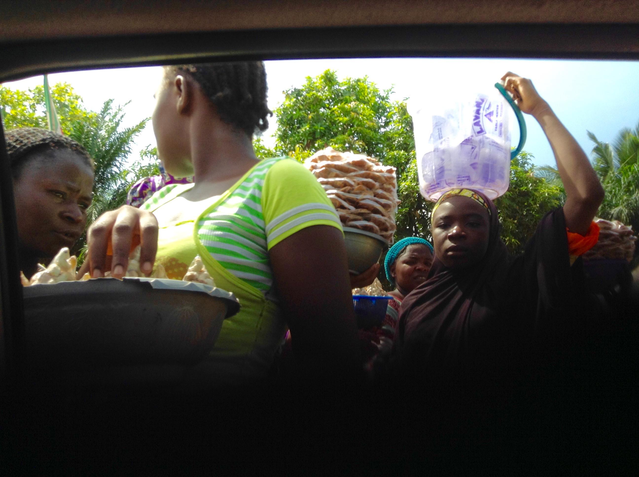 Roadside Hawking in Benue State Nigeria