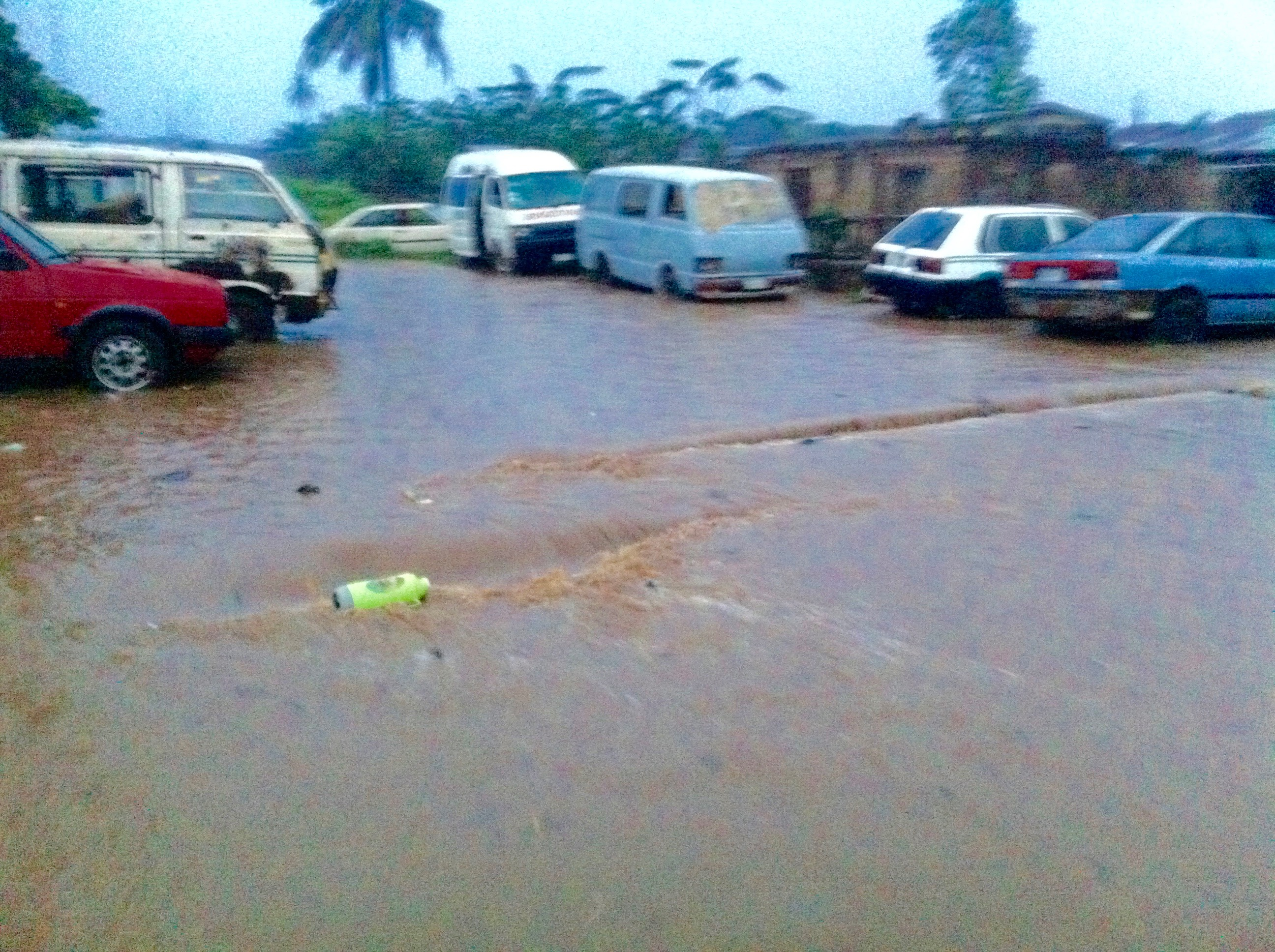 Flooding in Ibadan, Oyo State Nigeria