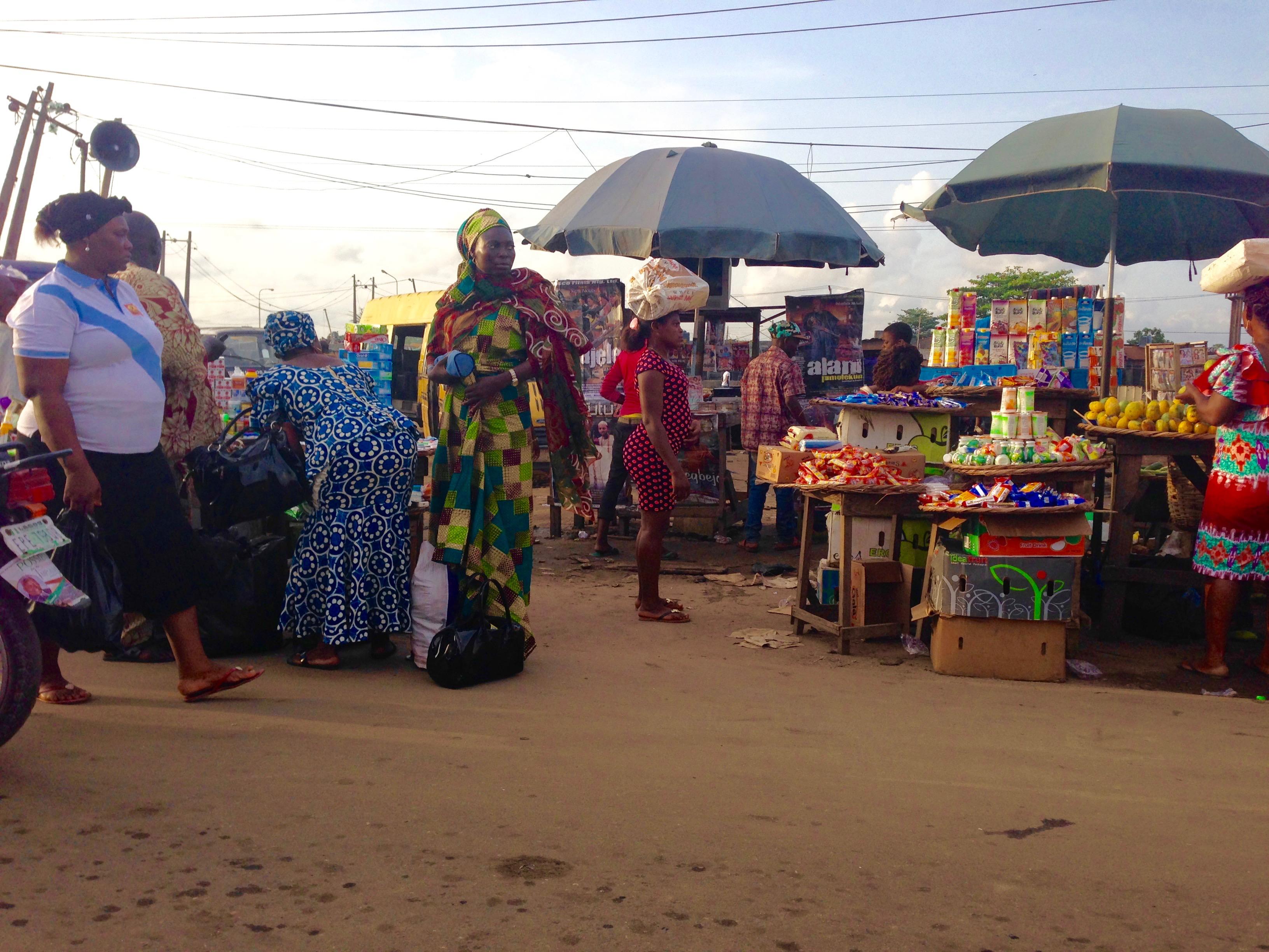 Iyano Oba Market in Lagos Nigeria