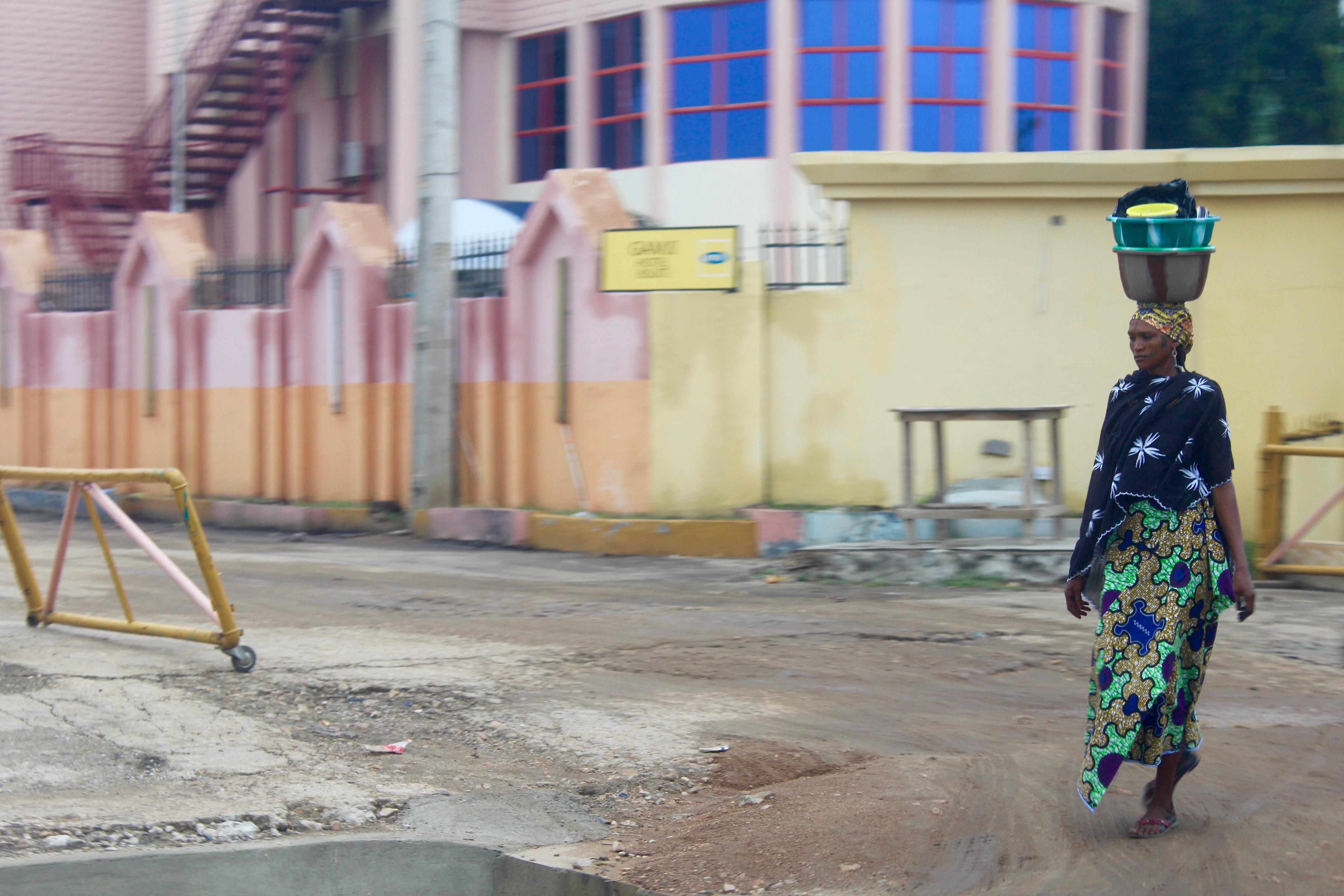 Fulani woman in Kogi, Nigeria.