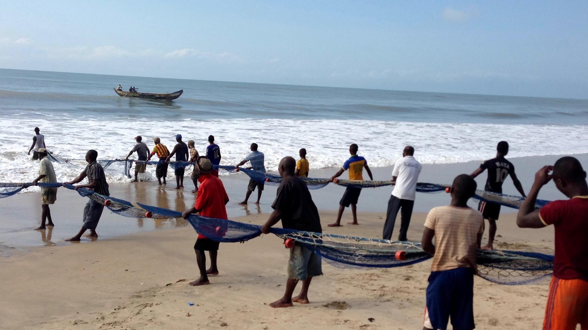Seine Fishing, Kokrobite, Obutu, Central, Ghana. #JujuFilms