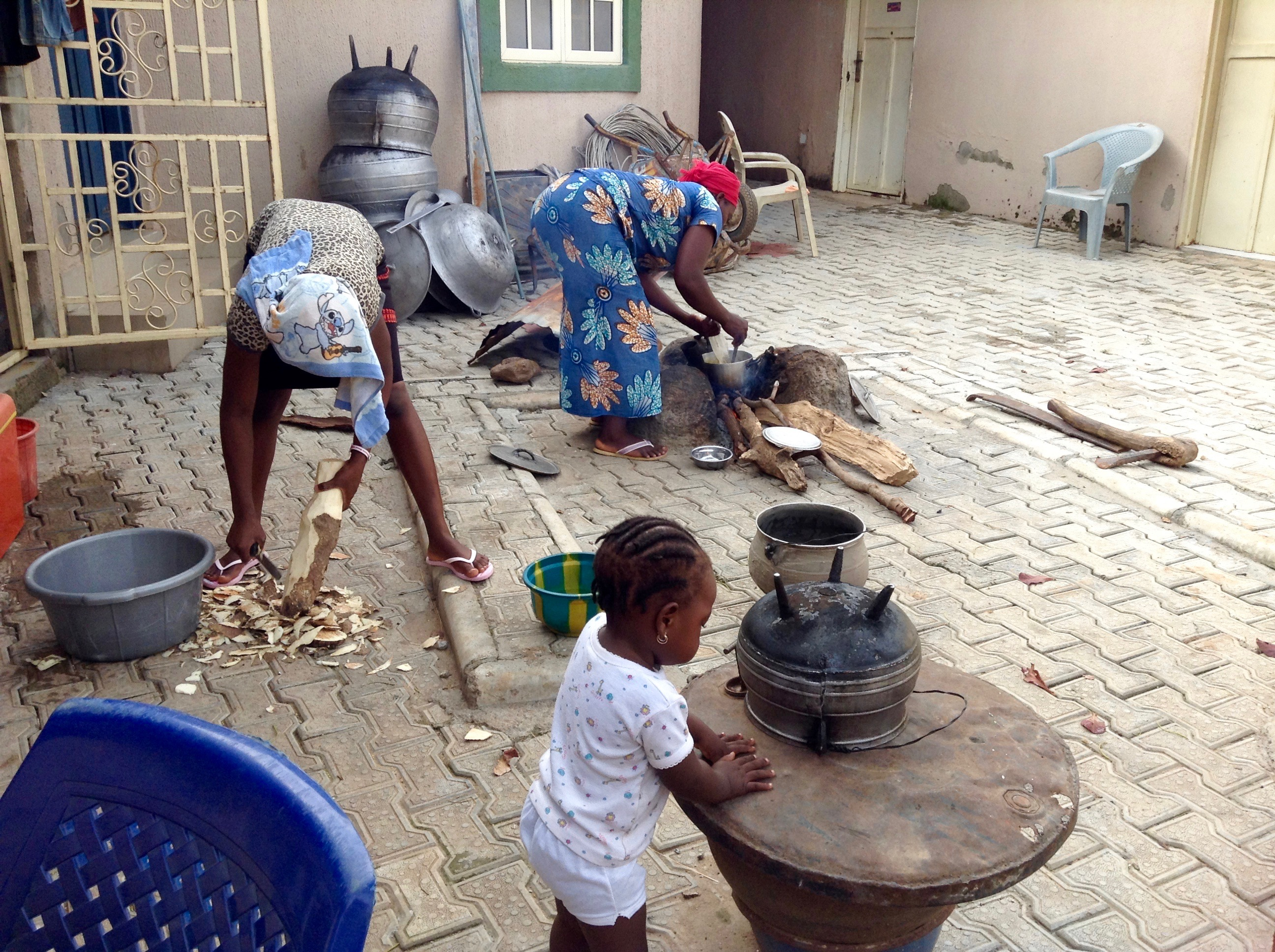 Cooking a King's meal, Lungu Palace, FCT Abuja, Nigeria. #JujuFilms